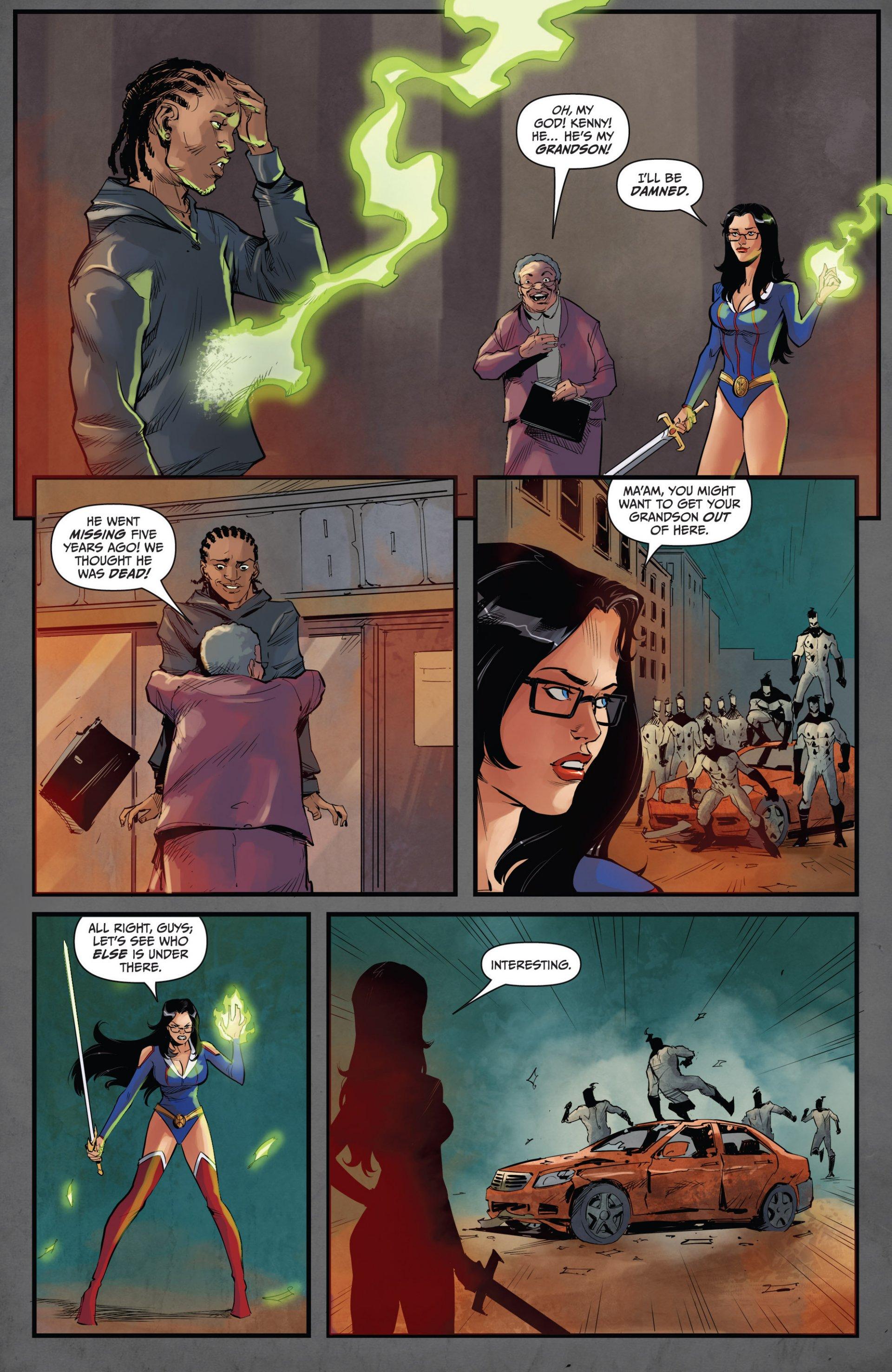 Read online Grimm Fairy Tales vs. Wonderland comic -  Issue #1 - 20