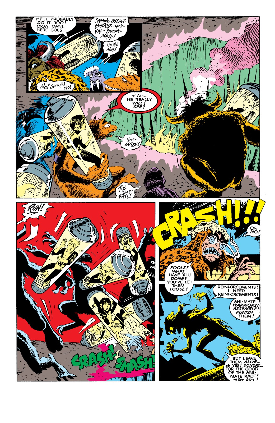 Read online X-Men Milestones: Fall of the Mutants comic -  Issue # TPB (Part 2) - 34