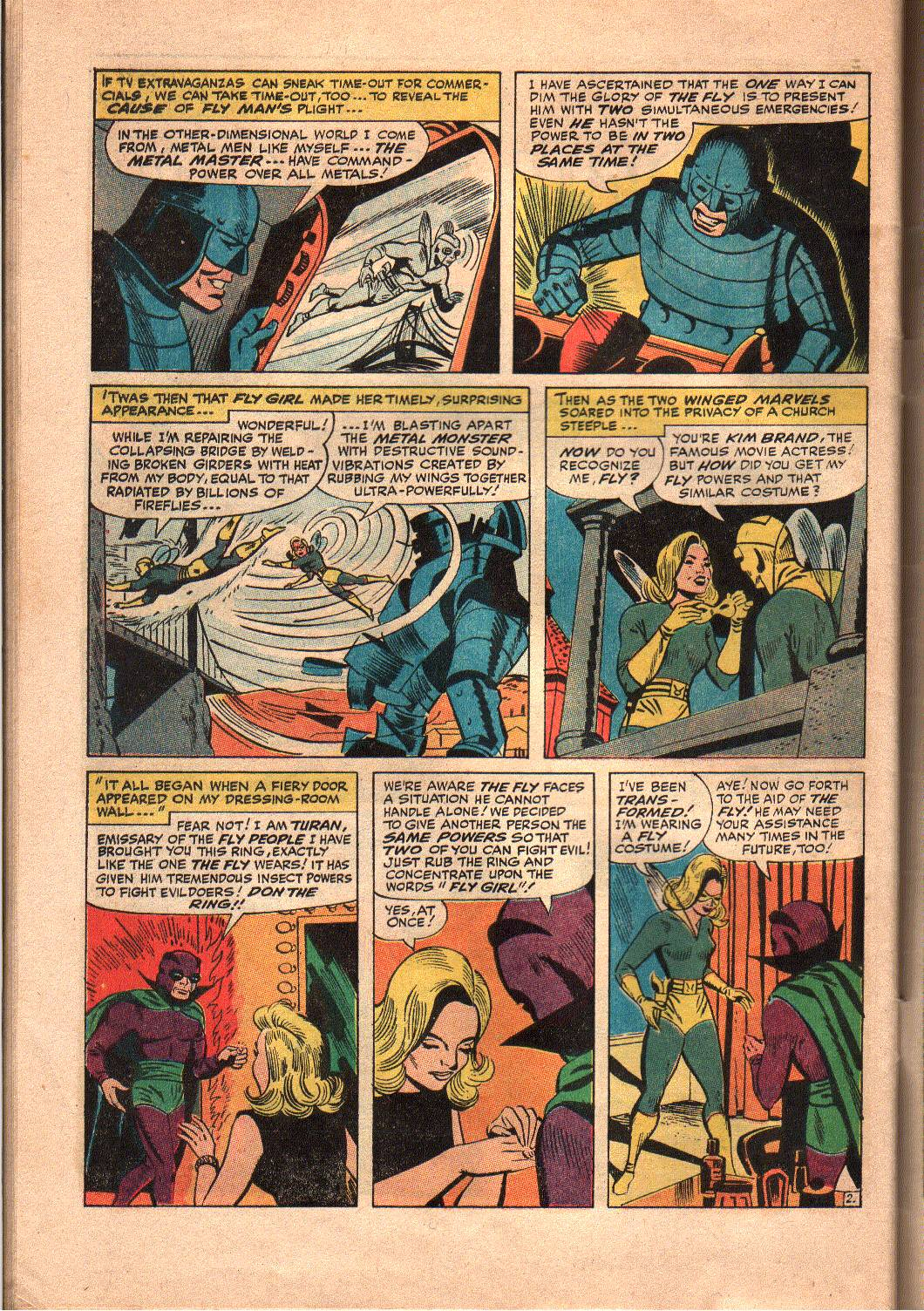 The Mighty Crusaders (1965) Issue #7 #7 - English 23