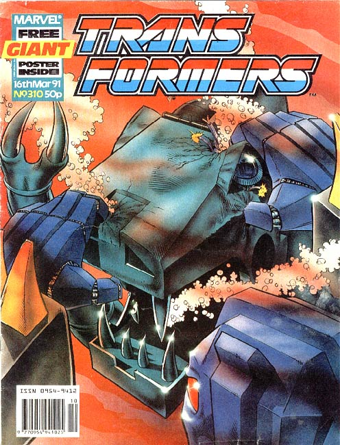 The Transformers (UK) 310 Page 1