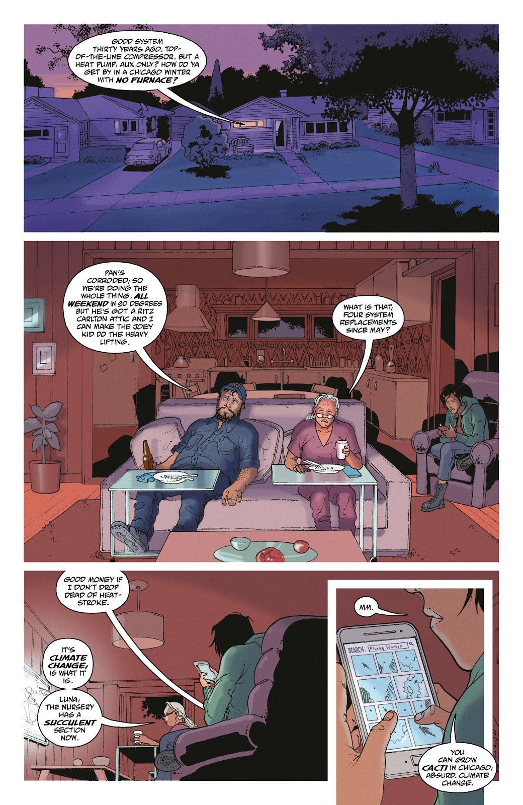 Read online She Could Fly comic -  Issue # _TPB - 13