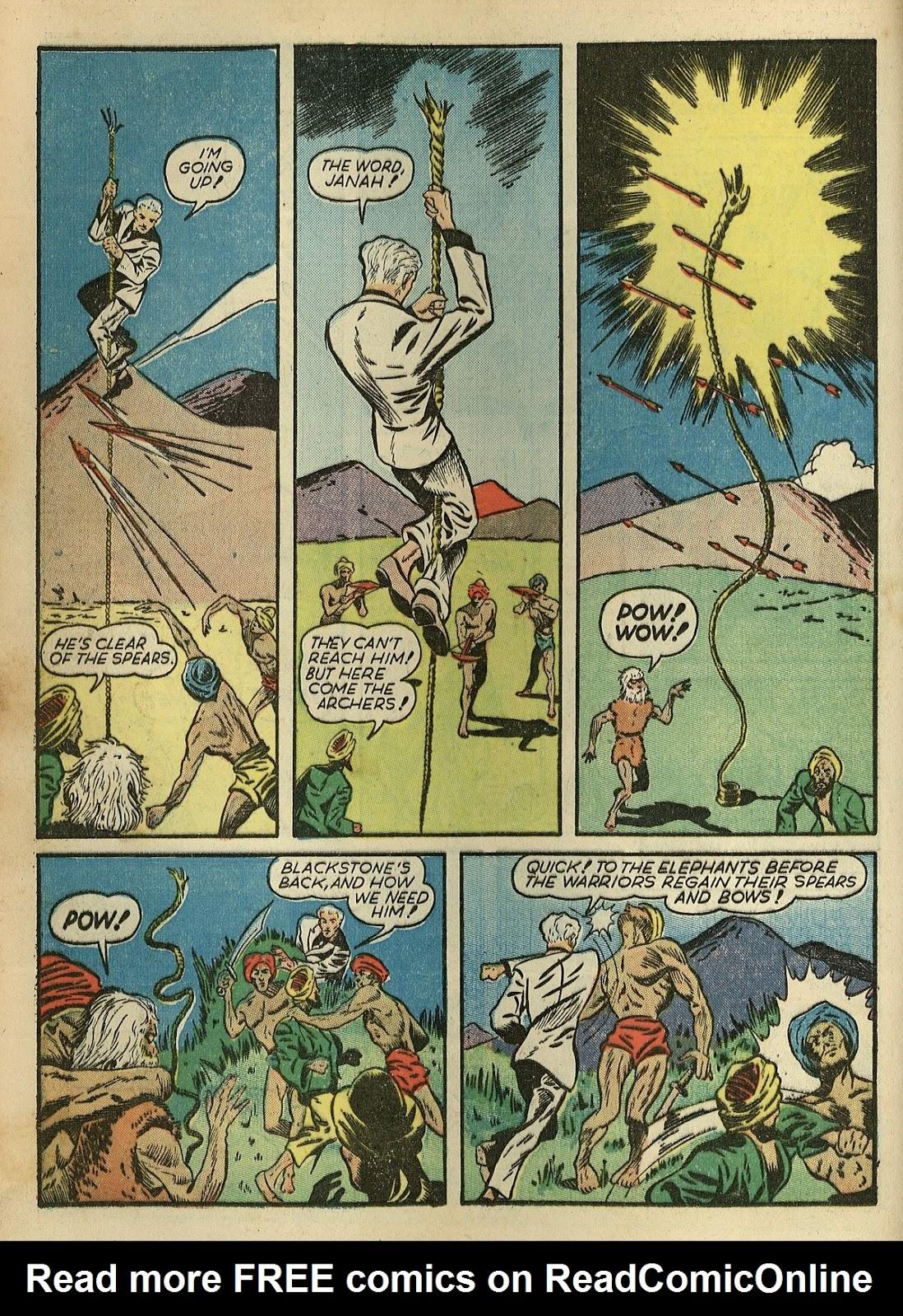 Read online Super-Magician Comics comic -  Issue #1 - 28