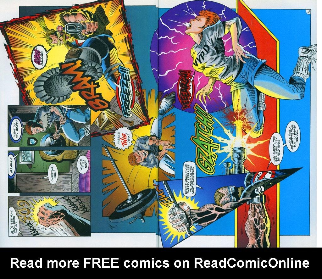 Read online ShadowHawk comic -  Issue #7 - 15
