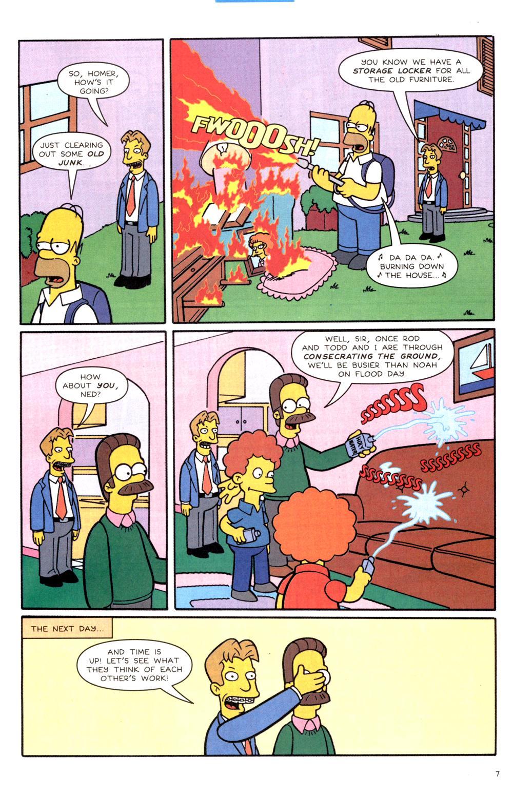 Read online Simpsons Comics comic -  Issue #82 - 8