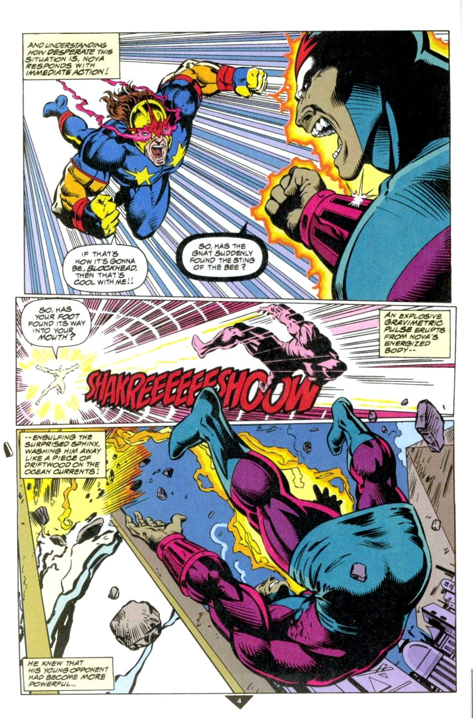 The New Warriors Issue #50 #54 - English 5