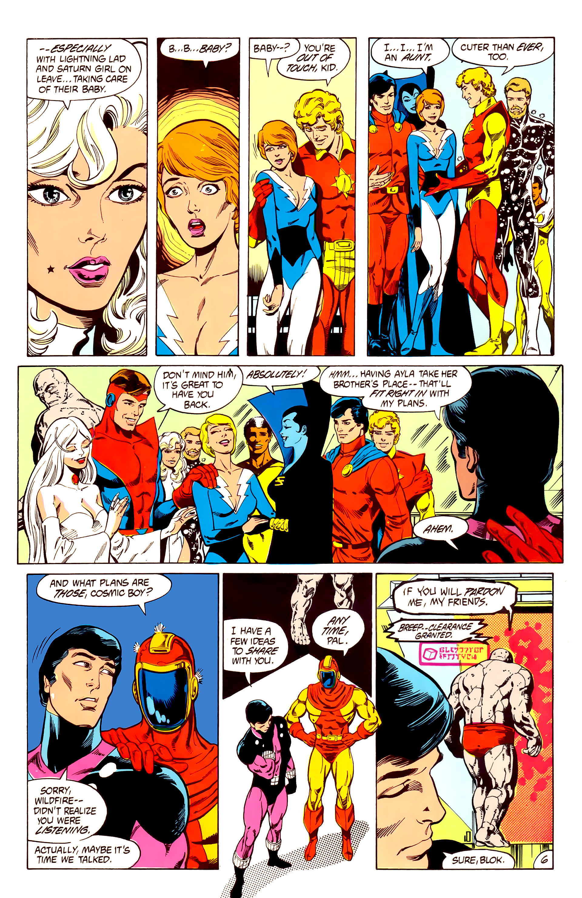Legion of Super-Heroes (1984) 7 Page 7
