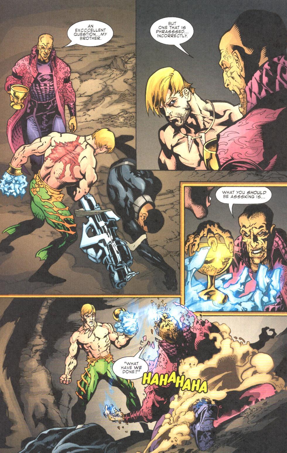 Read online Aquaman (2003) comic -  Issue #11 - 21