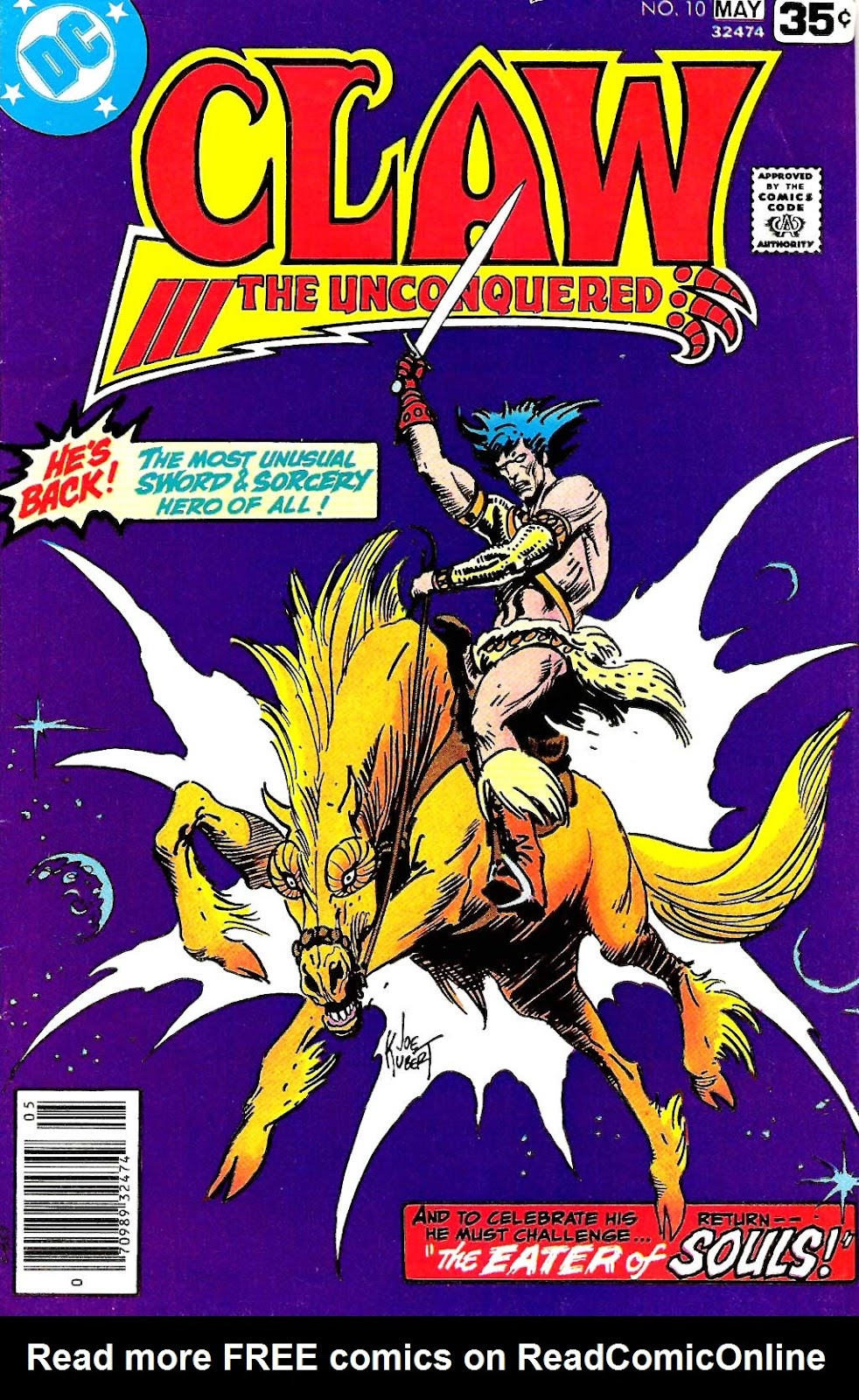 Claw  The Unconquered (1975) issue 10 - Page 1