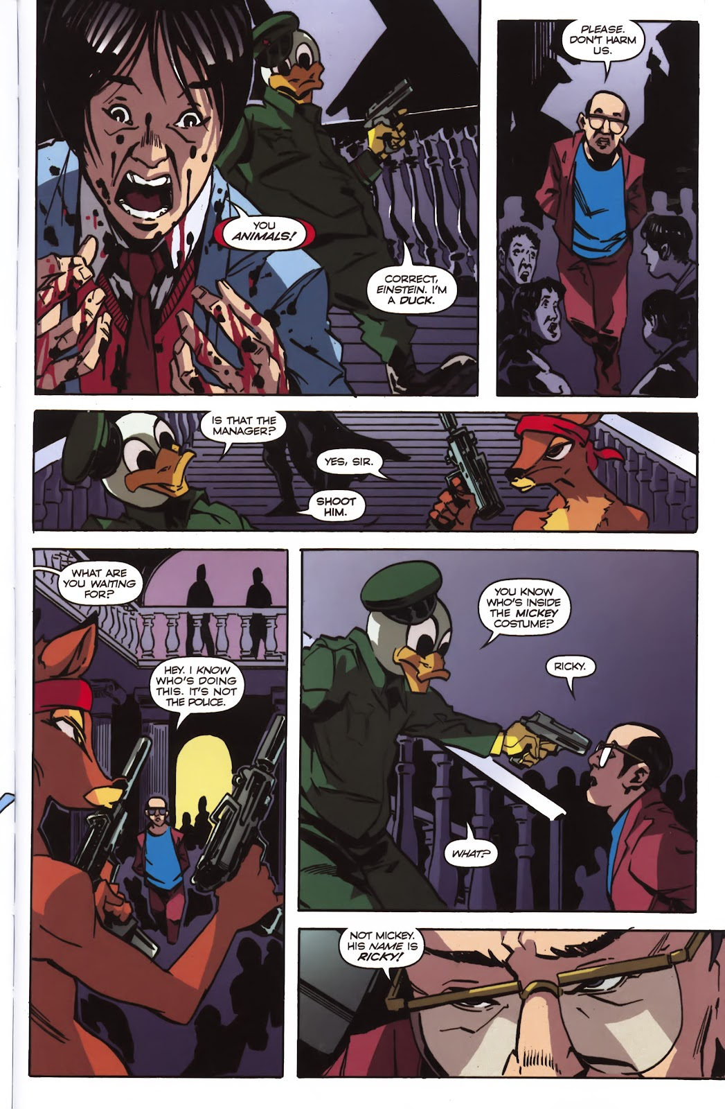 Read online Ricky Rouse Has A Gun comic -  Issue # TPB (Part 2) - 20
