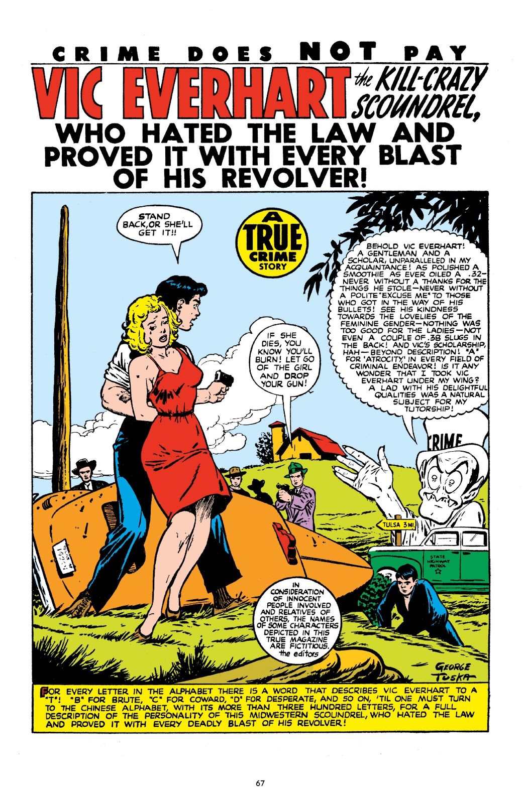 Read online Crime Does Not Pay Archives comic -  Issue # TPB 10 (Part 1) - 69