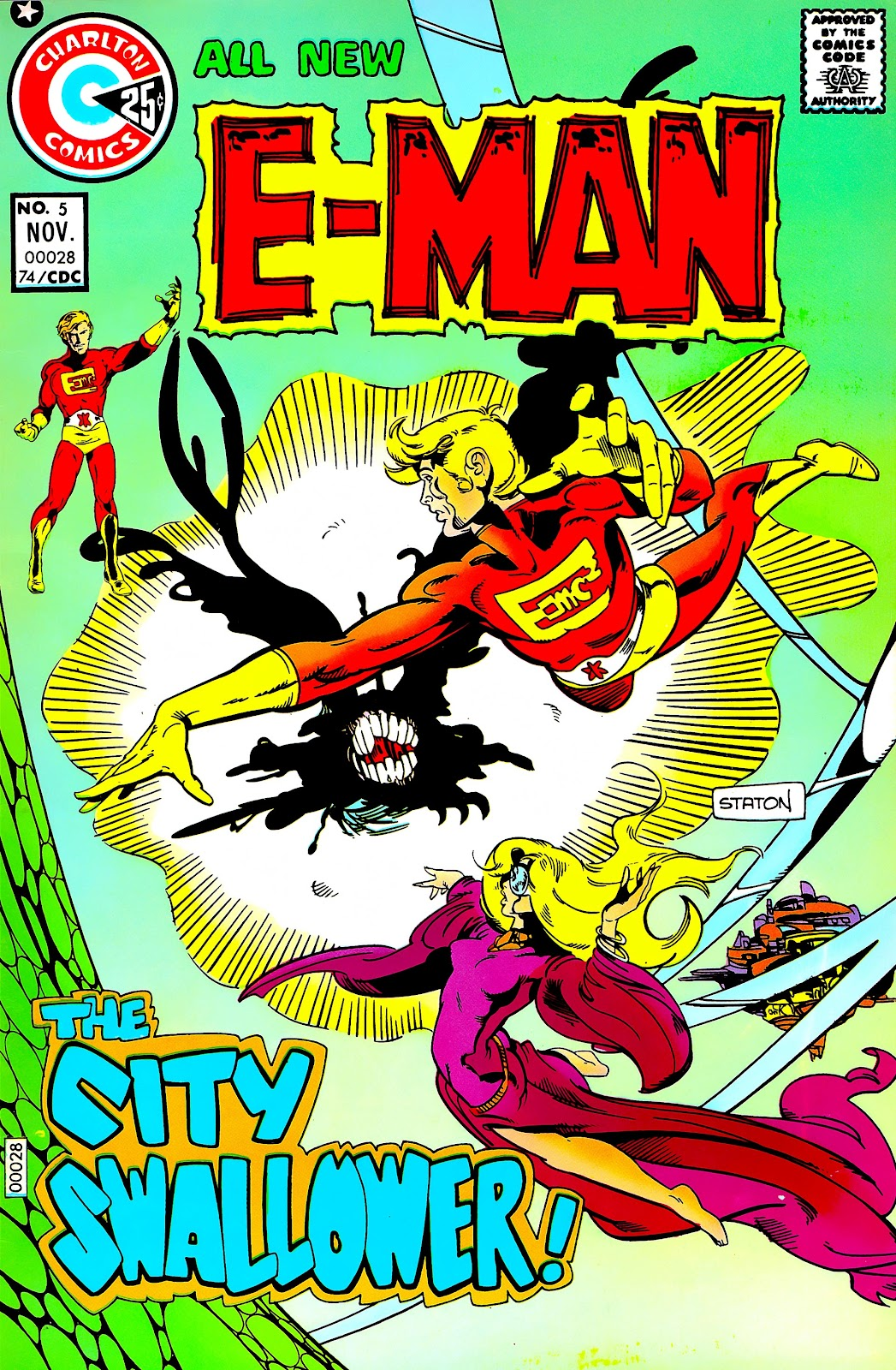 E-Man (1973) issue 5 - Page 1