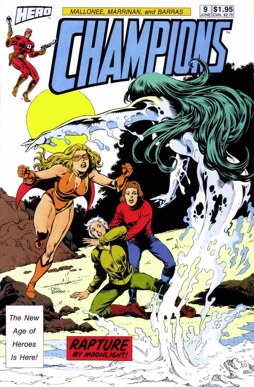 Champions (1987) 9 Page 1