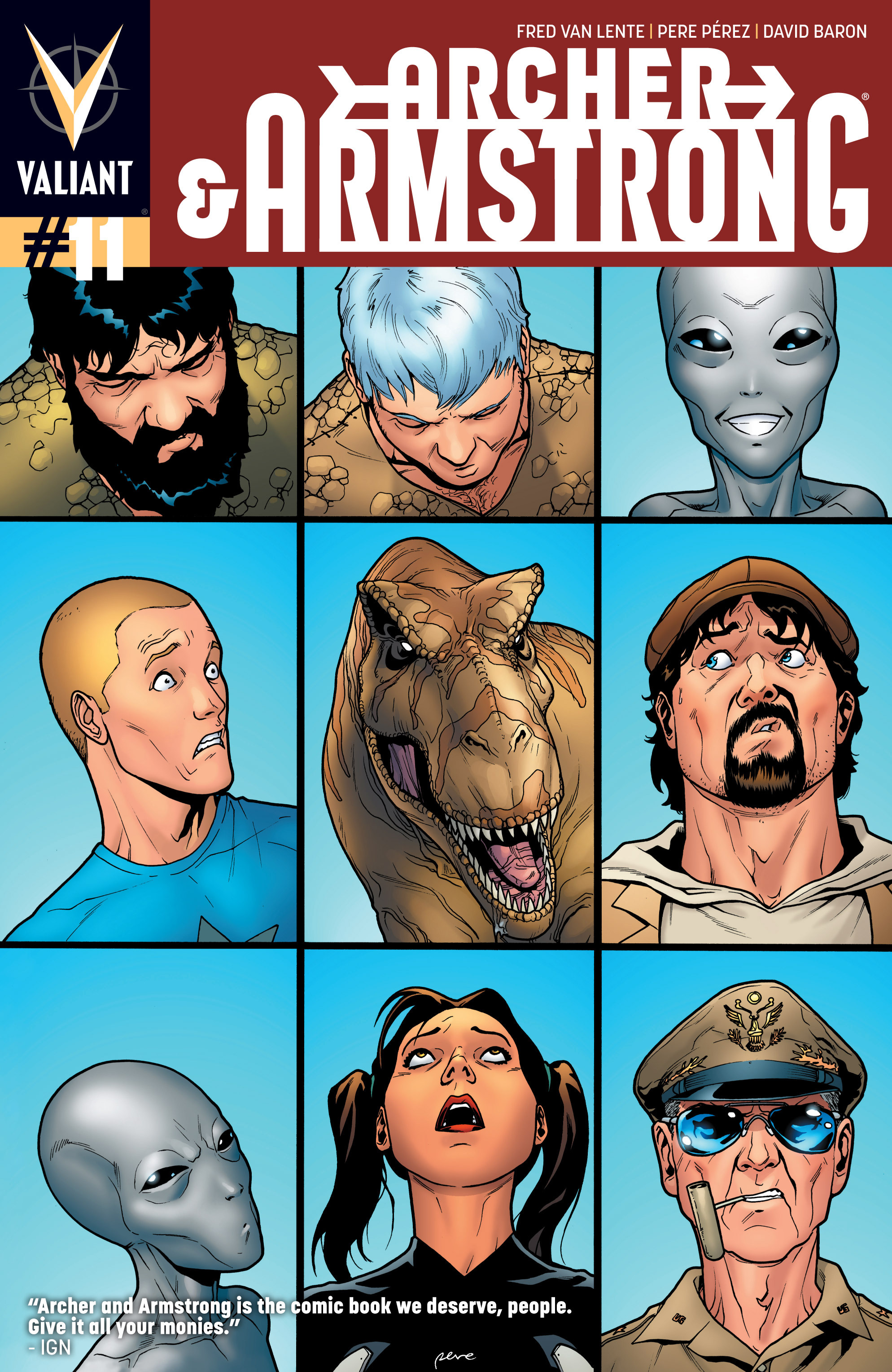 Read online Archer and Armstrong comic -  Issue #Archer and Armstrong _TPB 3 - 50