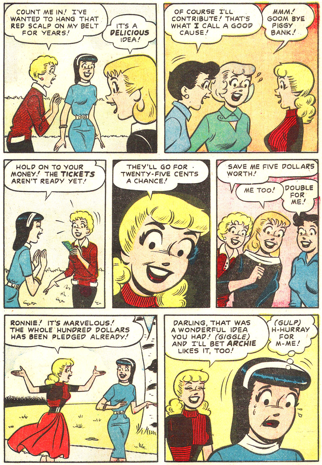 Read online Archie's Girls Betty and Veronica comic -  Issue #54 - 17