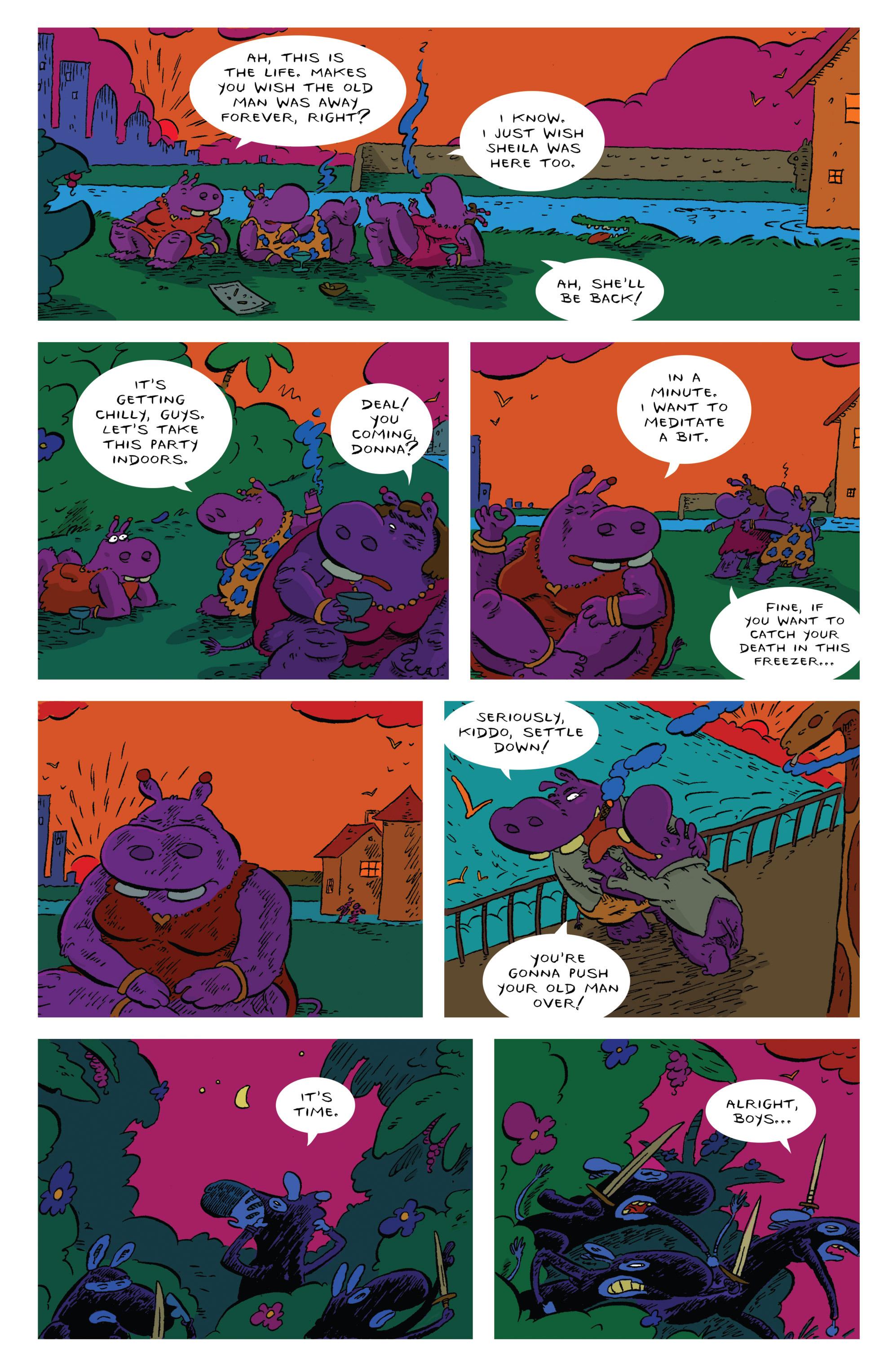 Read online Animal Noir comic -  Issue #4 - 21