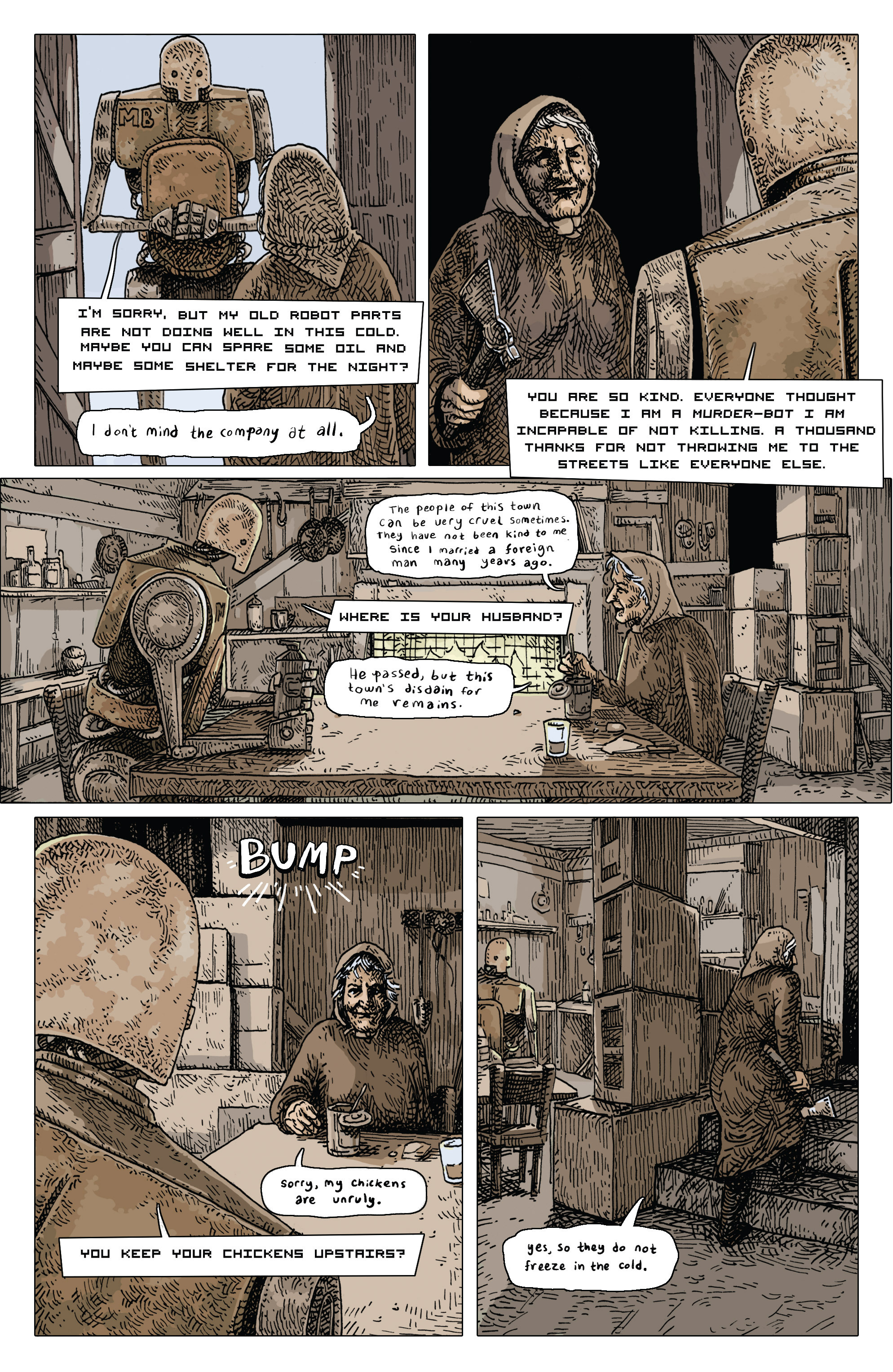 Read online Amazing Forest (2016) comic -  Issue #4 - 6