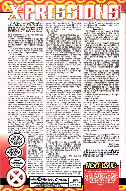X-Men (1991) 88 Page 23