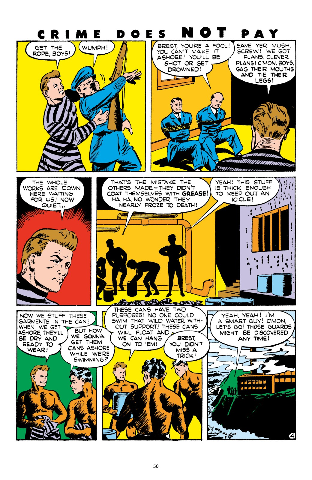 Read online Crime Does Not Pay Archives comic -  Issue # TPB 4 (Part 1) - 50