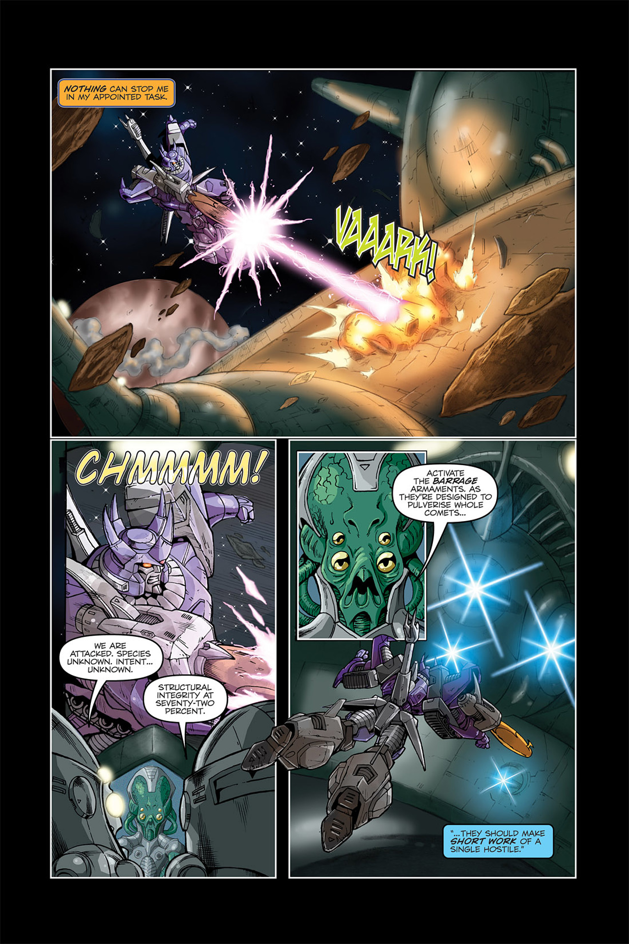 Read online Transformers Spotlight: Galvatron comic -  Issue # Full - 6