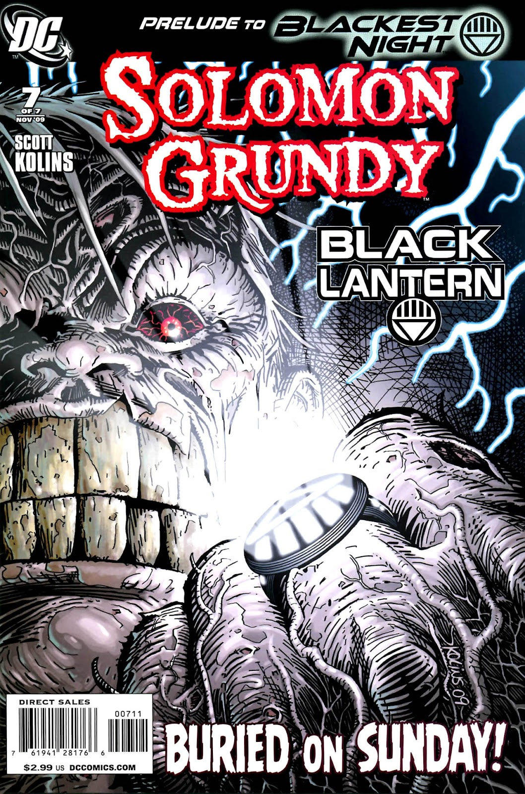 Solomon Grundy issue 7 - Page 1