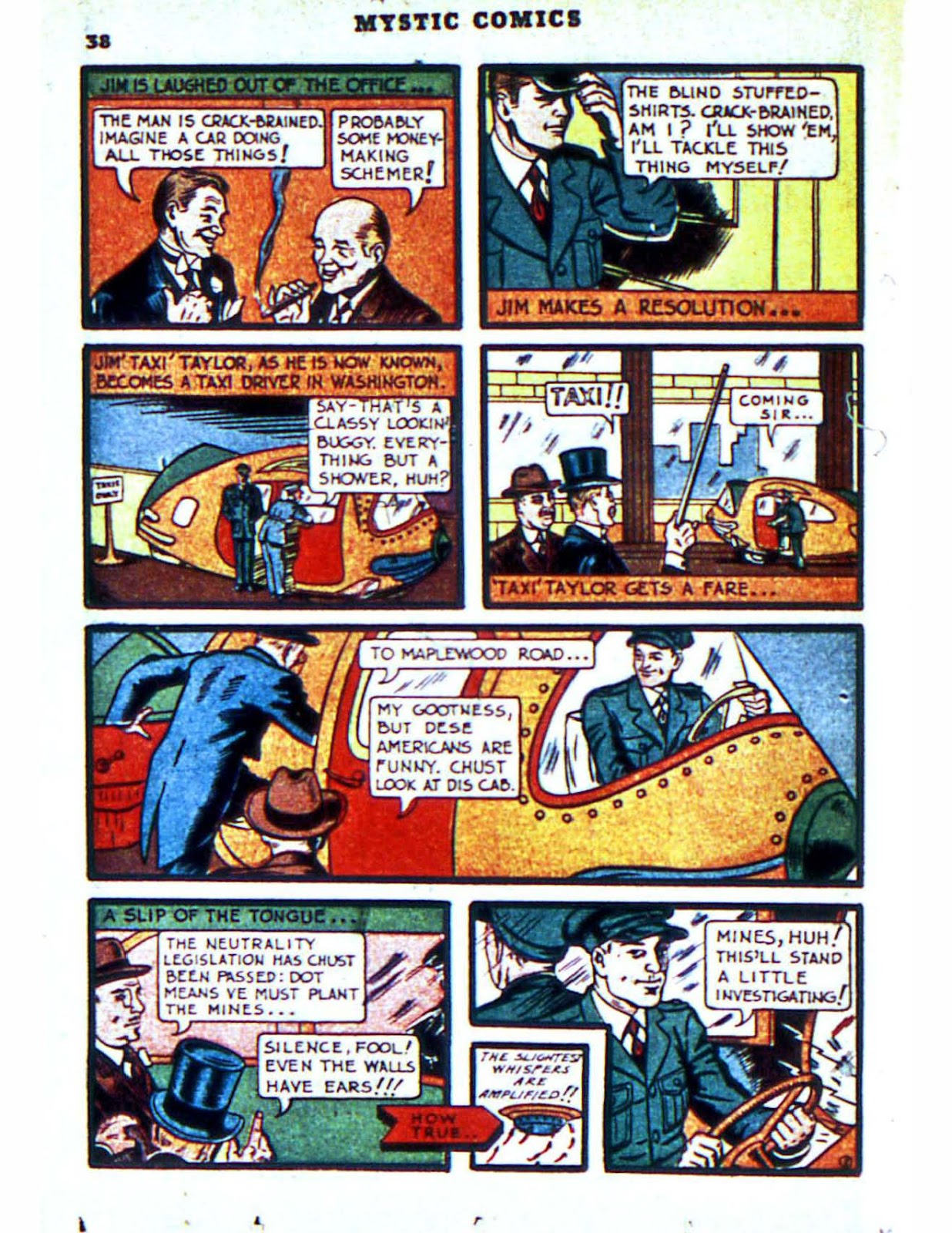 Mystic Comics (1940) issue 2 - Page 40