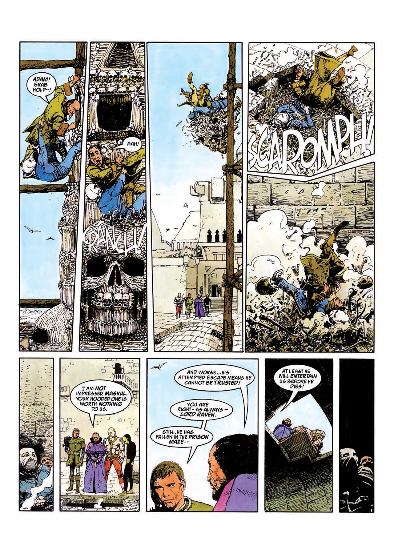 Read online Mazeworld comic -  Issue # TPB - 41