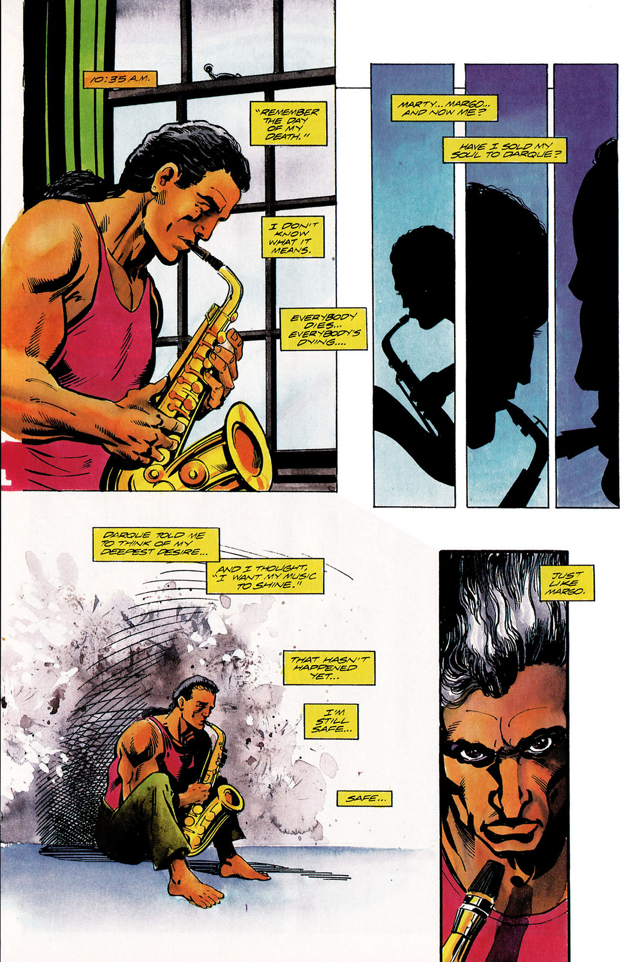 Read online Shadowman (1992) comic -  Issue #11 - 19