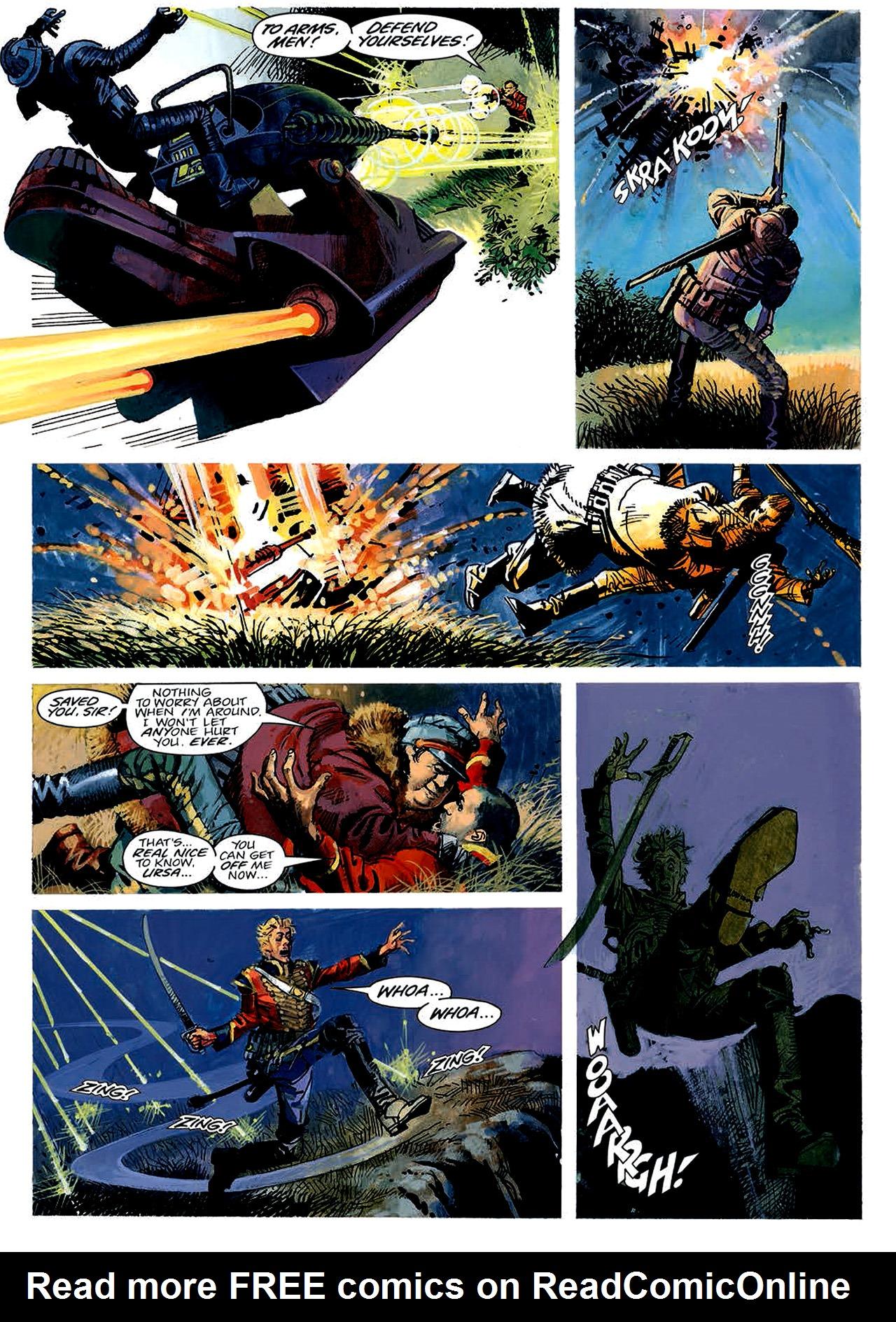 Read online Nikolai Dante comic -  Issue # TPB 4 - 28