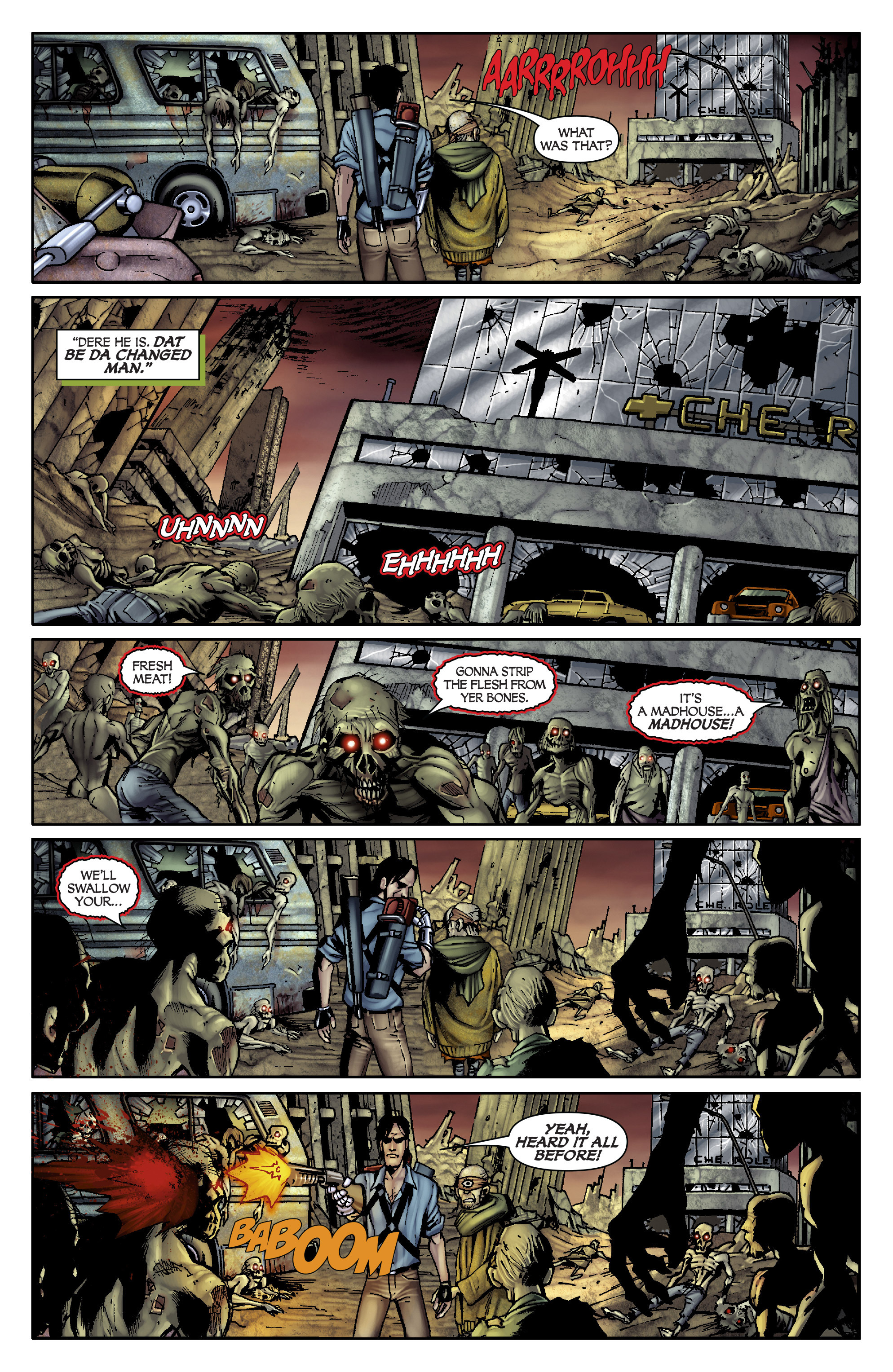Read online Army of Darkness: From the Ashes comic -  Issue #Army of Darkness: From the Ashes TPB - 48