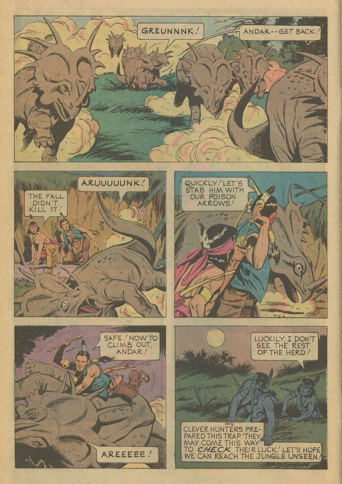 Read online Turok, Son of Stone comic -  Issue #95 - 4