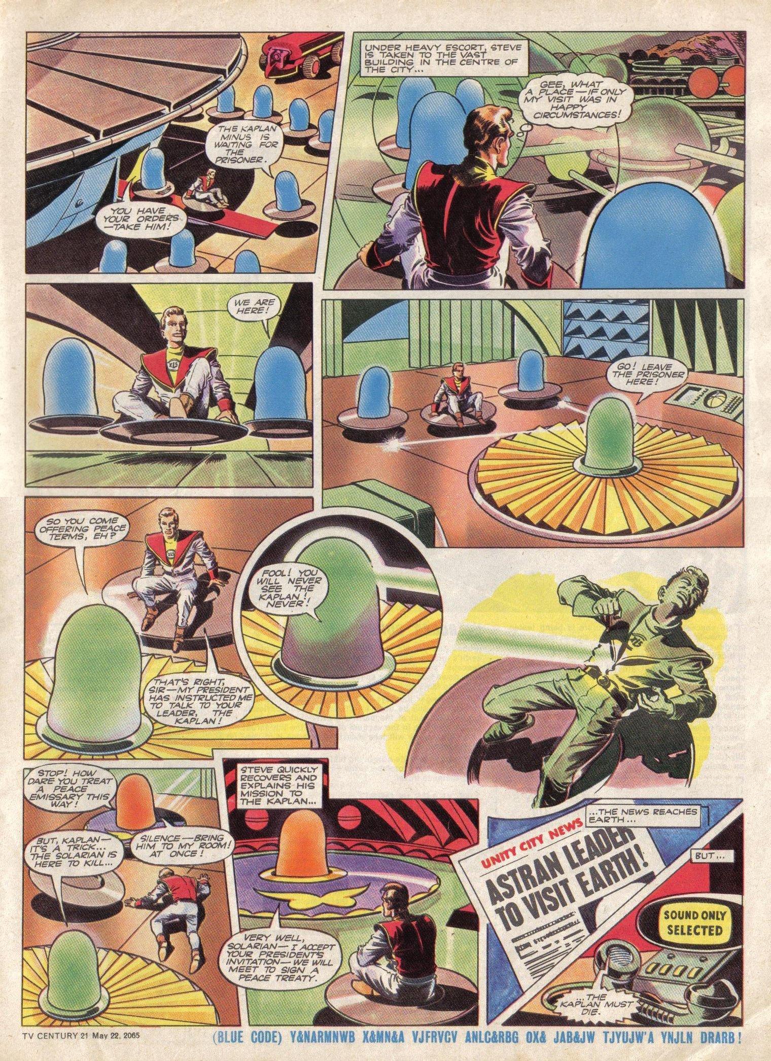 Read online TV Century 21 (TV 21) comic -  Issue #18 - 6