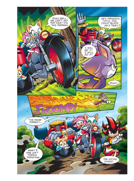 Read online Sonic Comics Spectacular: Speed of Sound comic -  Issue # Full - 175