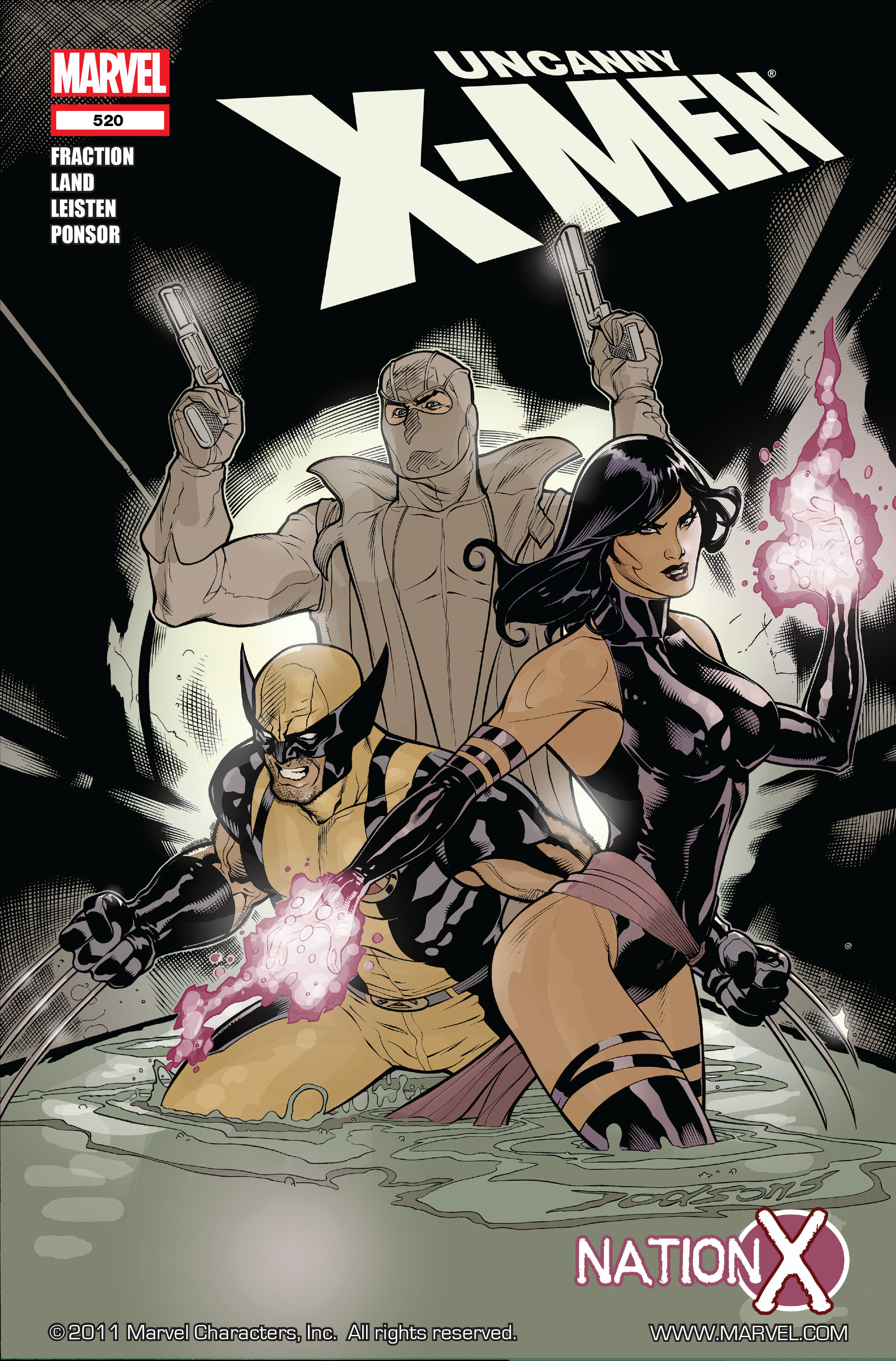 Read online Uncanny X-Men (1963) comic -  Issue #520 - 1