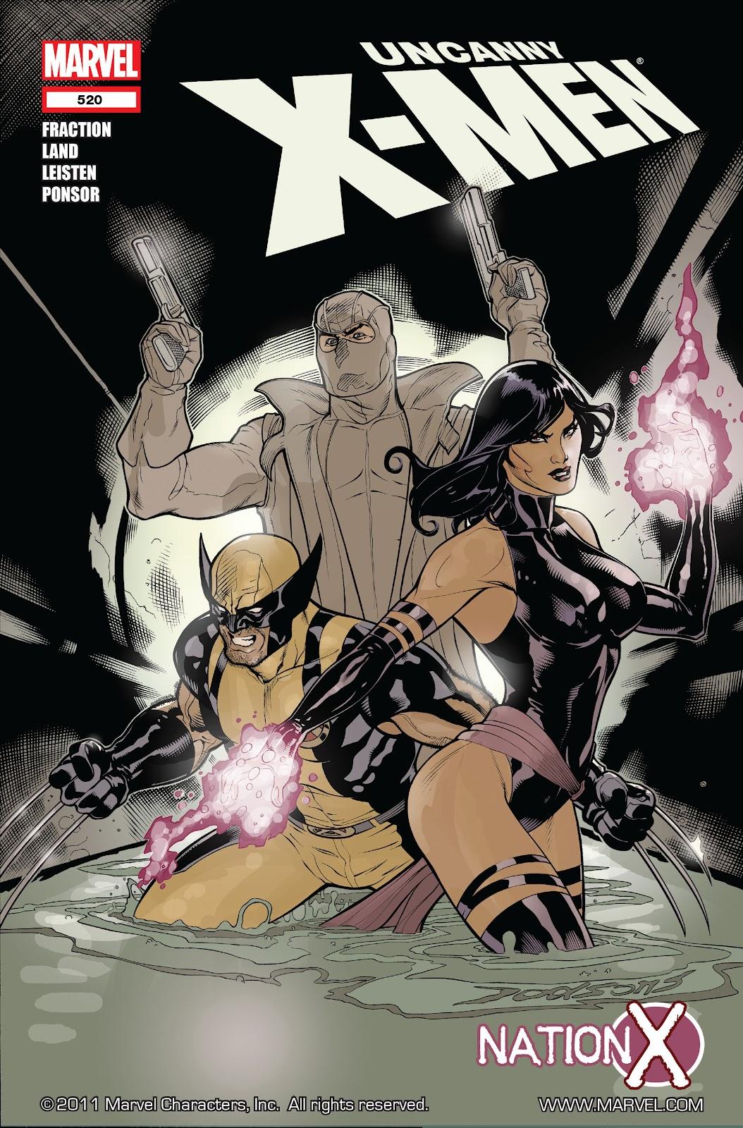 Uncanny X-Men (1963) 520 Page 1