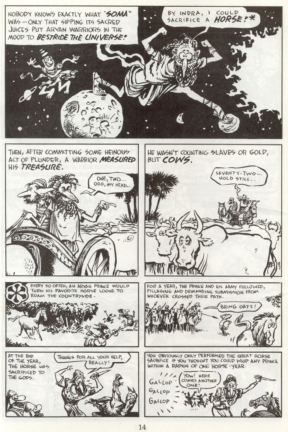Read online The Cartoon History of the Universe comic -  Issue #8 - 17
