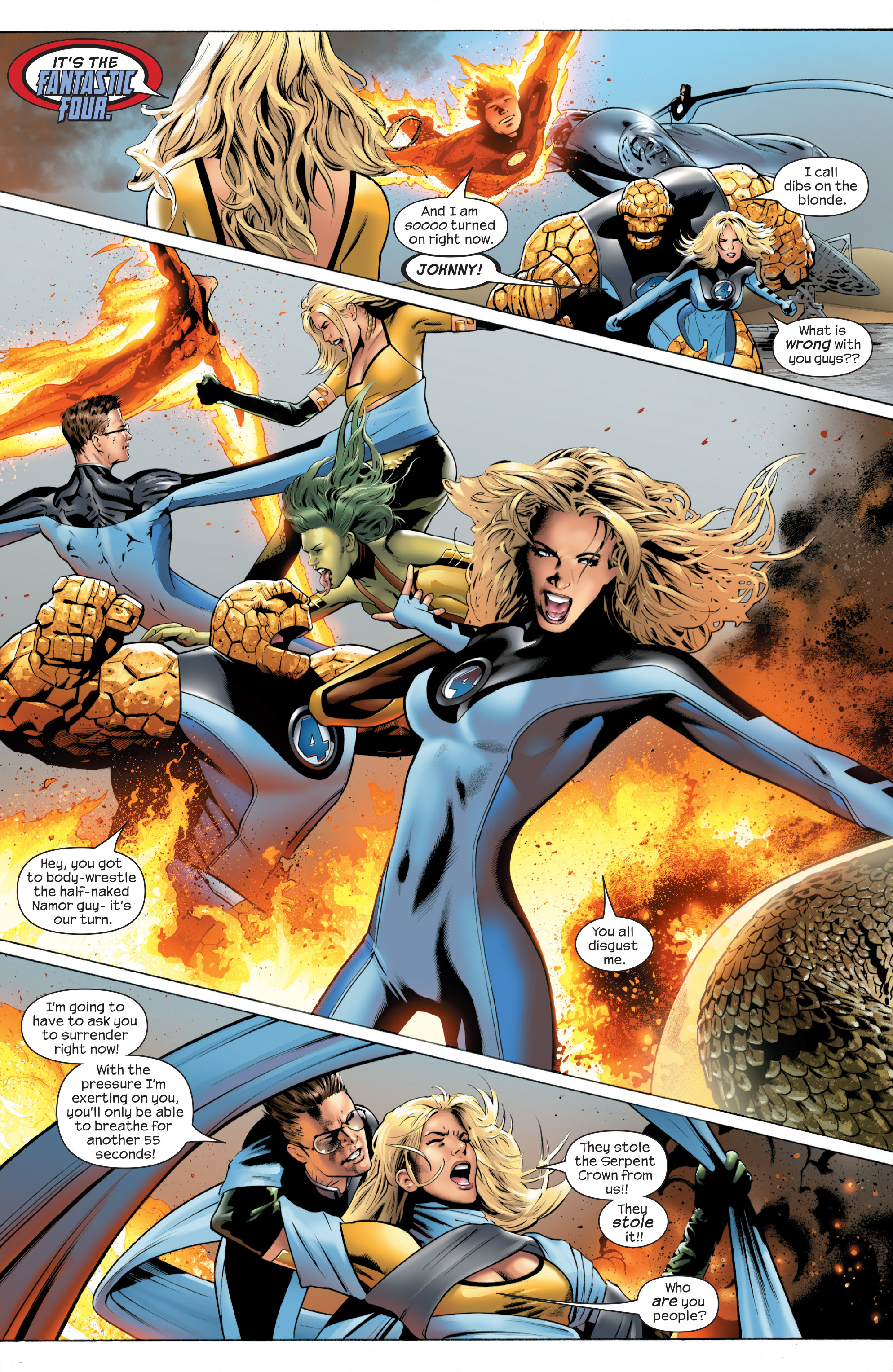 Read online Ultimate Power comic -  Issue #1 - 4