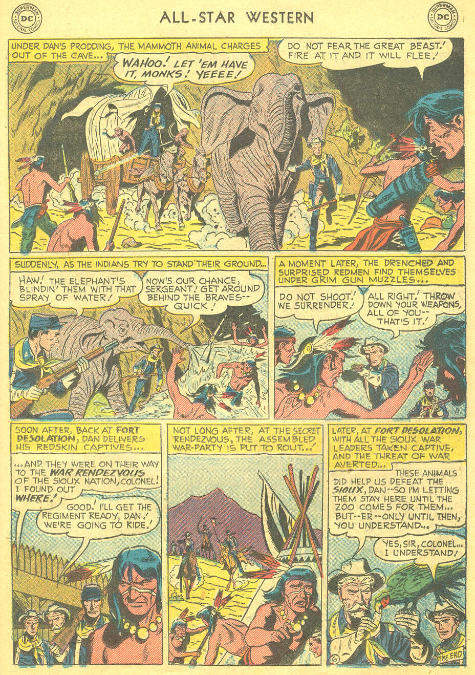 Read online All-Star Western (1951) comic -  Issue #88 - 23