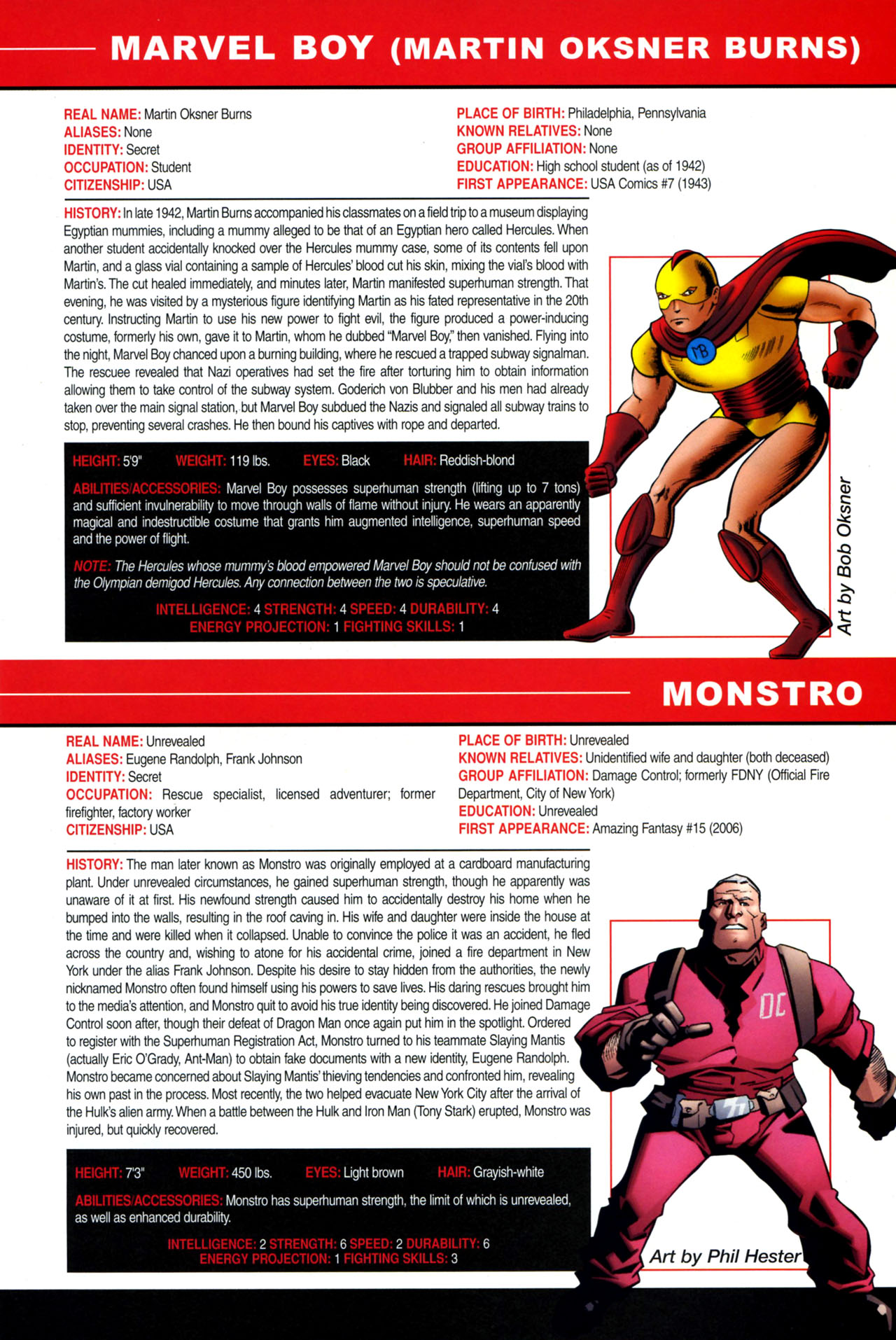 Read online All-New Official Handbook of the Marvel Universe A to Z: Update comic -  Issue #4 - 65