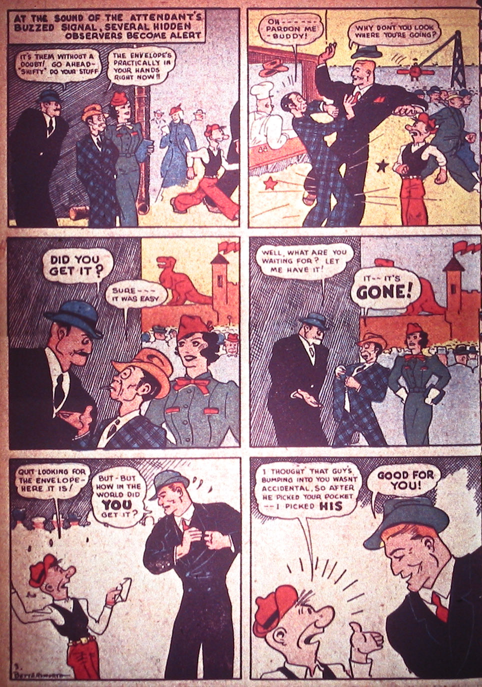 Read online Detective Comics (1937) comic -  Issue #3 - 56