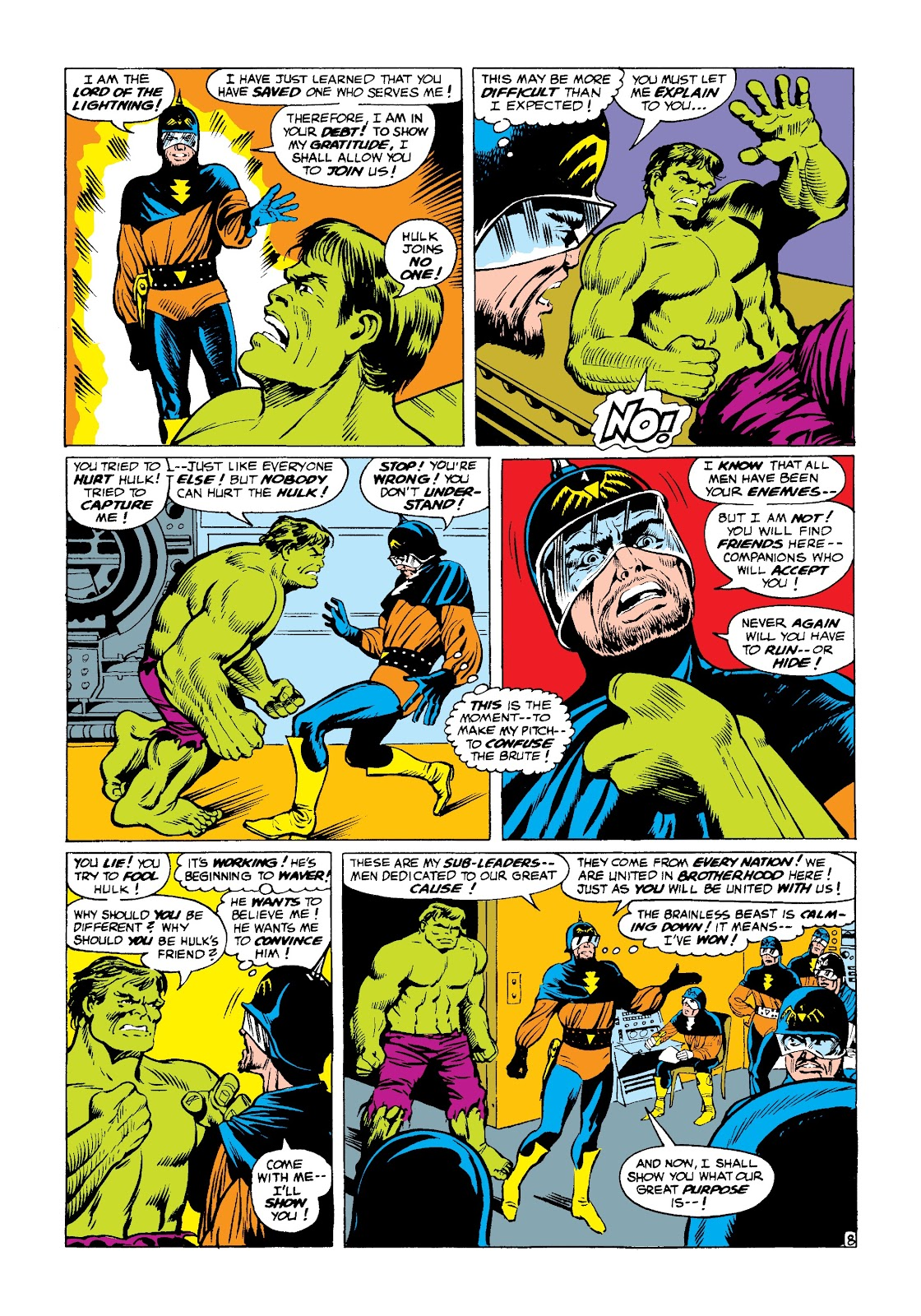Read online Marvel Masterworks: The Incredible Hulk comic -  Issue # TPB 3 (Part 3) - 2
