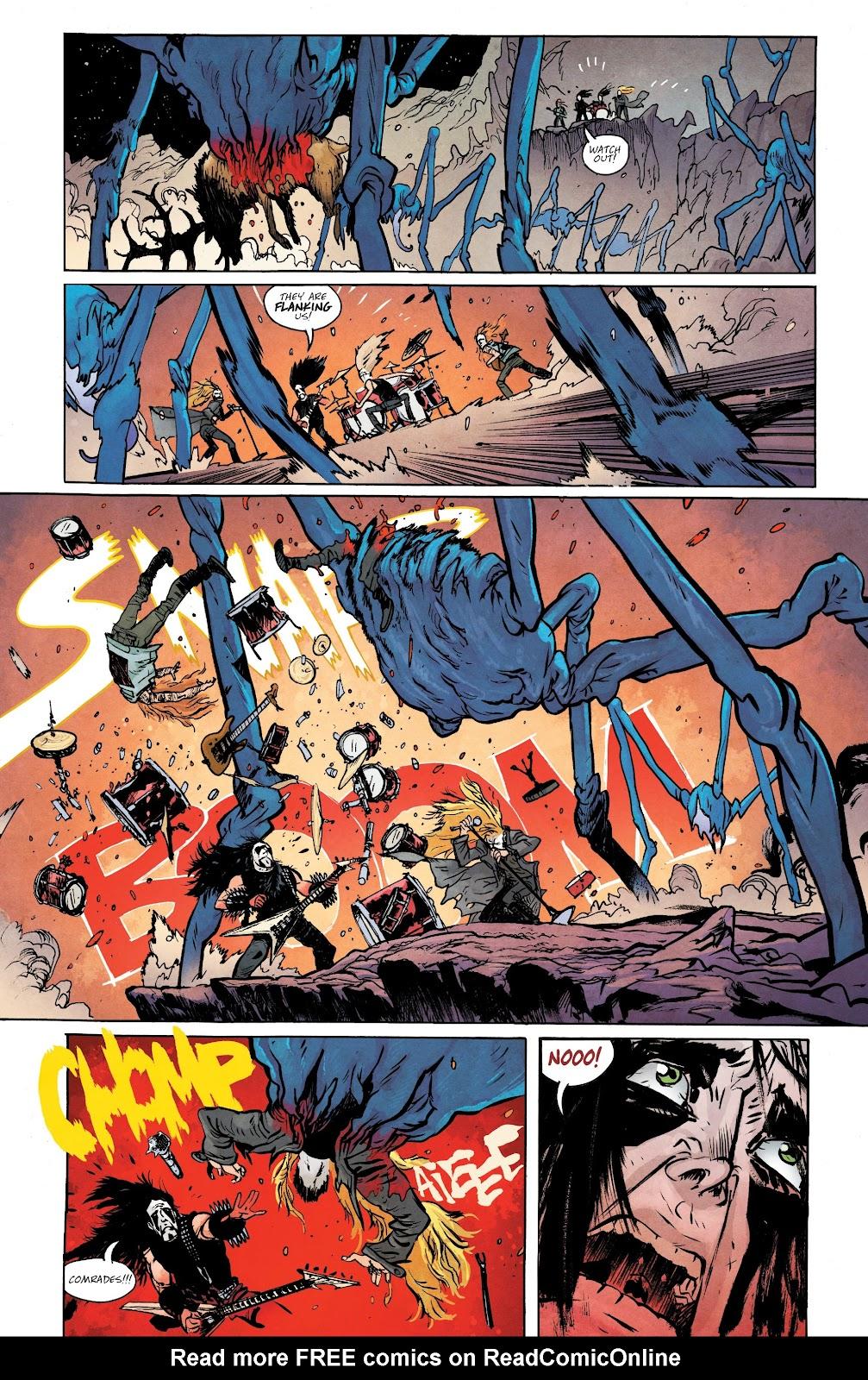 Read online Murder Falcon comic -  Issue #5 - 7