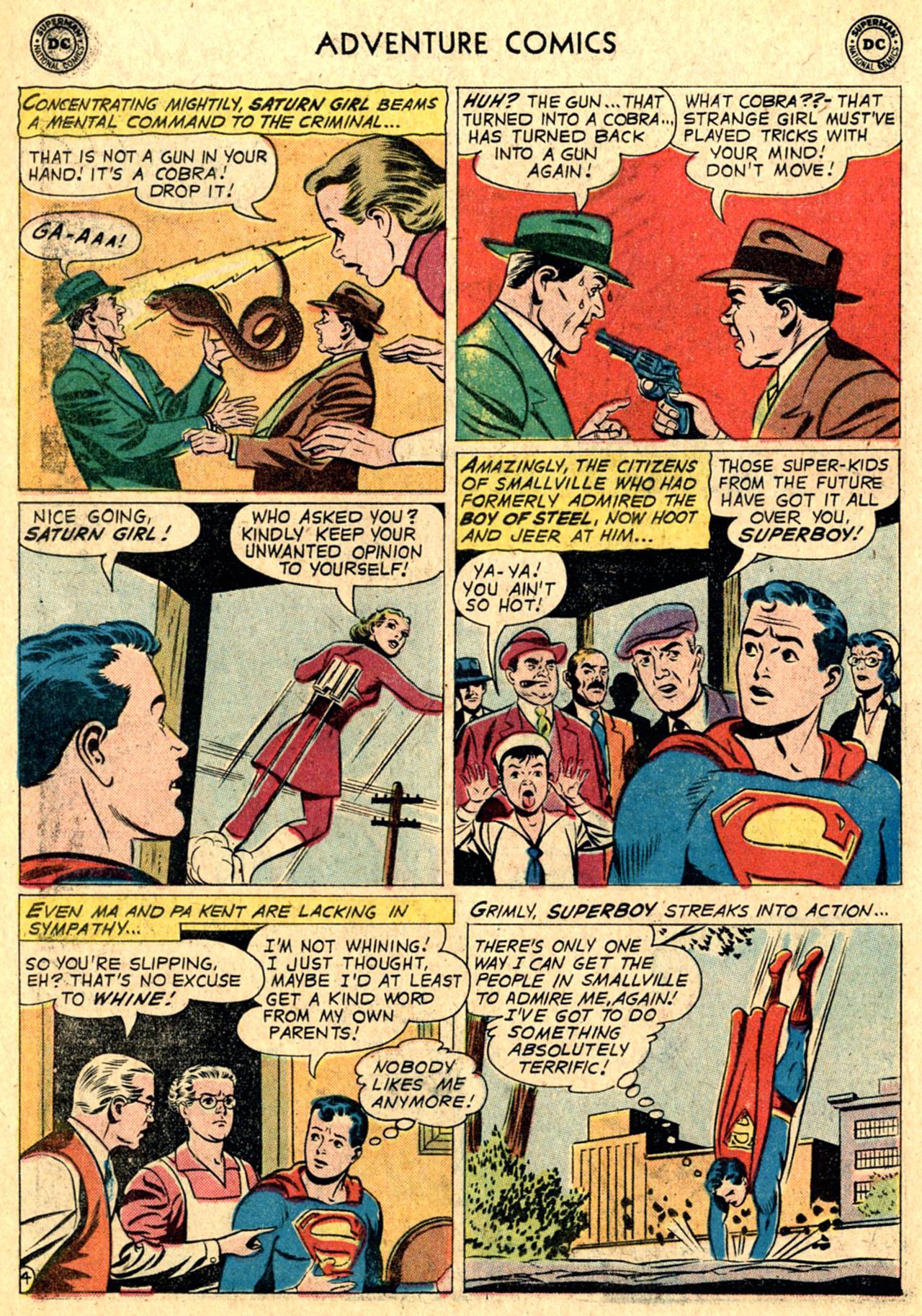 Read online Adventure Comics (1938) comic -  Issue #267 - 6