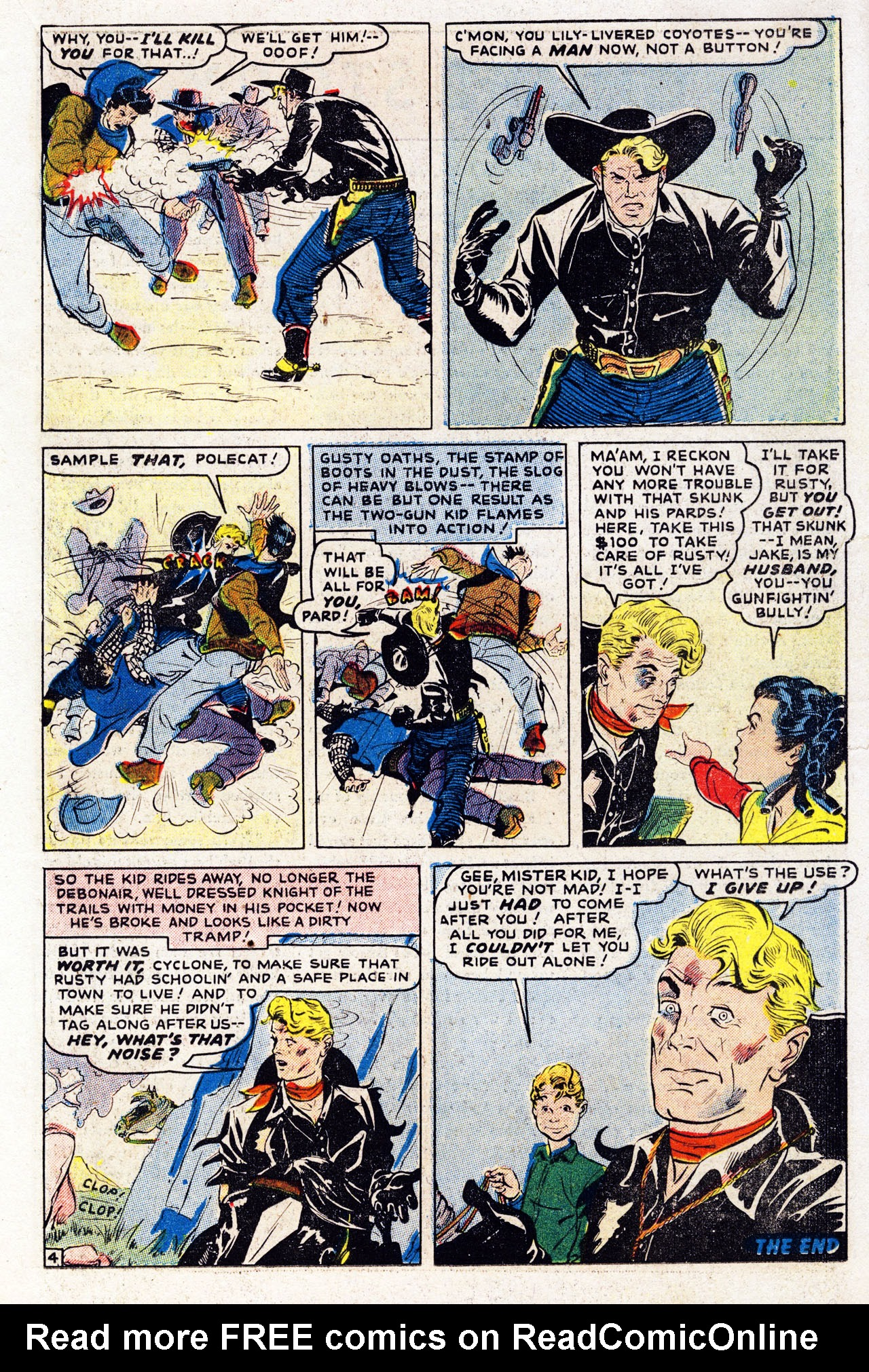 Read online Two-Gun Kid comic -  Issue #7 - 15