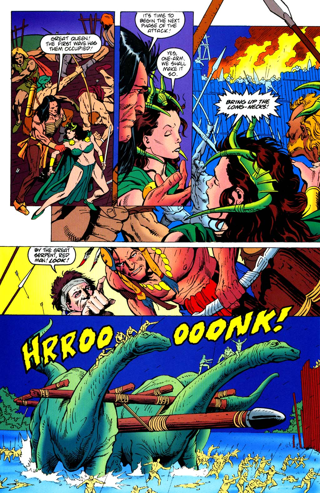 Read online Turok, Dinosaur Hunter (1993) comic -  Issue #46 - 10