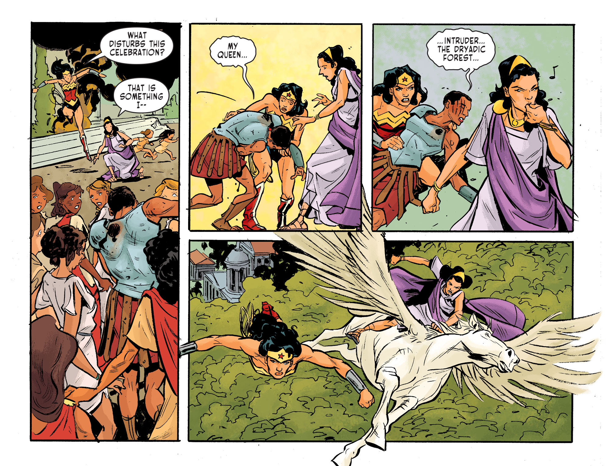 Read online Sensation Comics Featuring Wonder Woman comic -  Issue #31 - 6