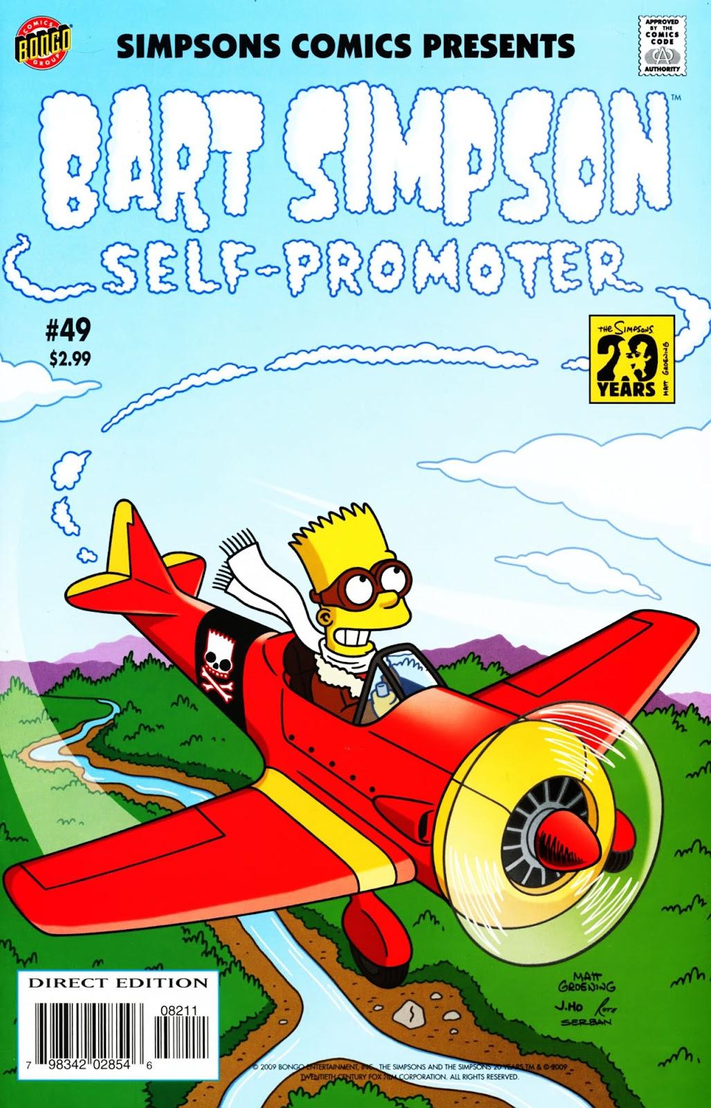 Simpsons Comics Presents Bart Simpson 49 Page 1