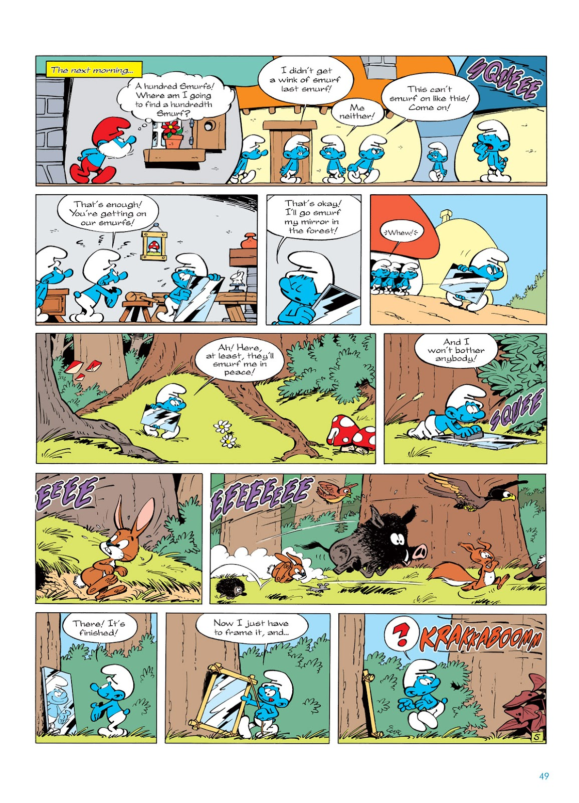 Read online The Smurfs comic -  Issue #5 - 49