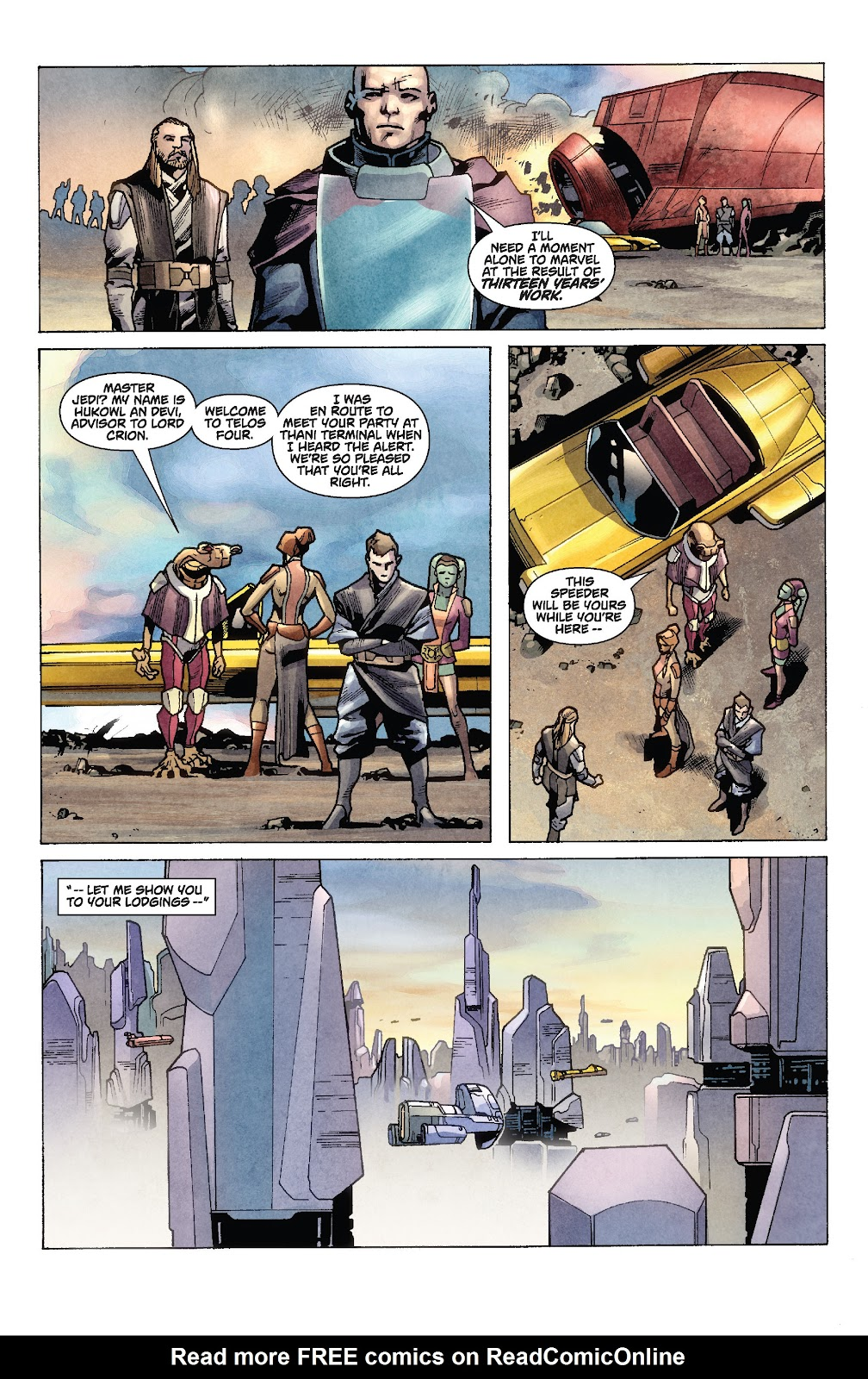 Read online Star Wars Legends: Rise of the Sith - Epic Collection comic -  Issue # TPB 1 (Part 2) - 10
