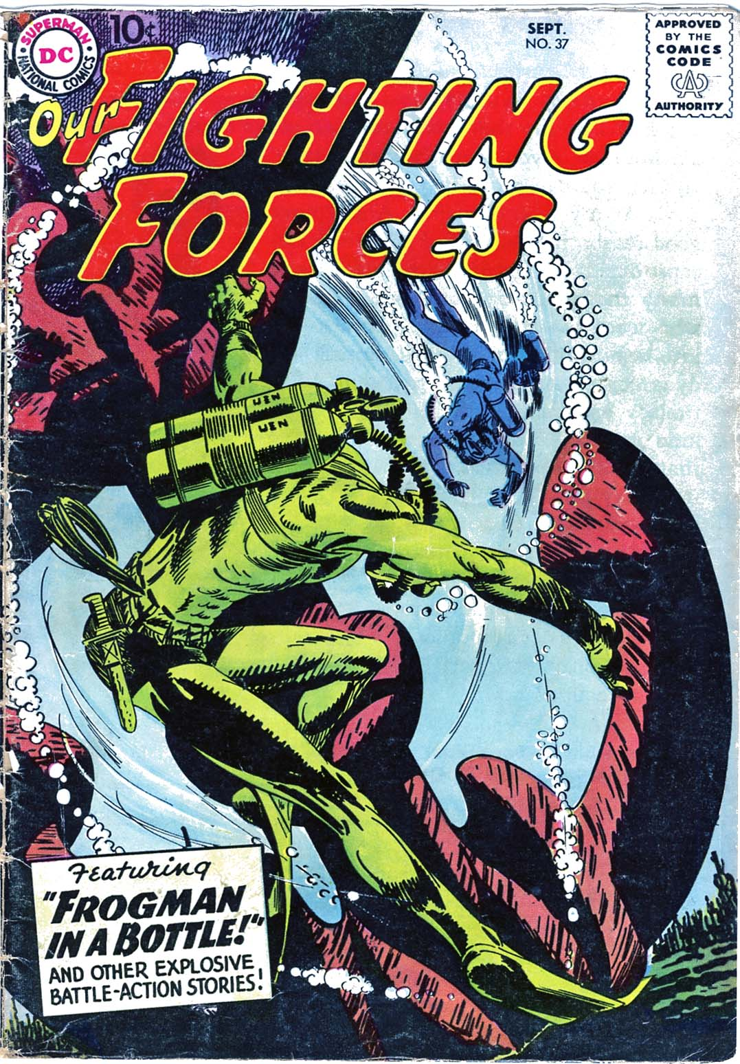 Our Fighting Forces (1954) issue 37 - Page 1