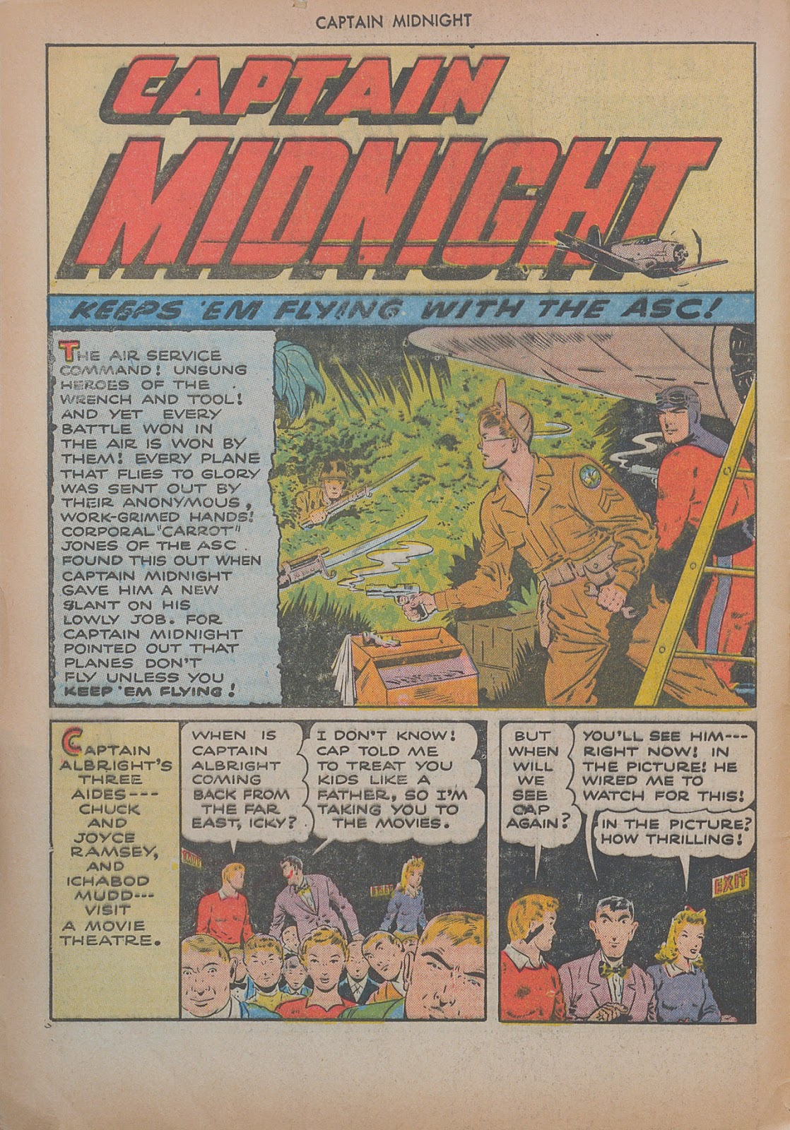 Captain Midnight (1942) issue 20 - Page 4